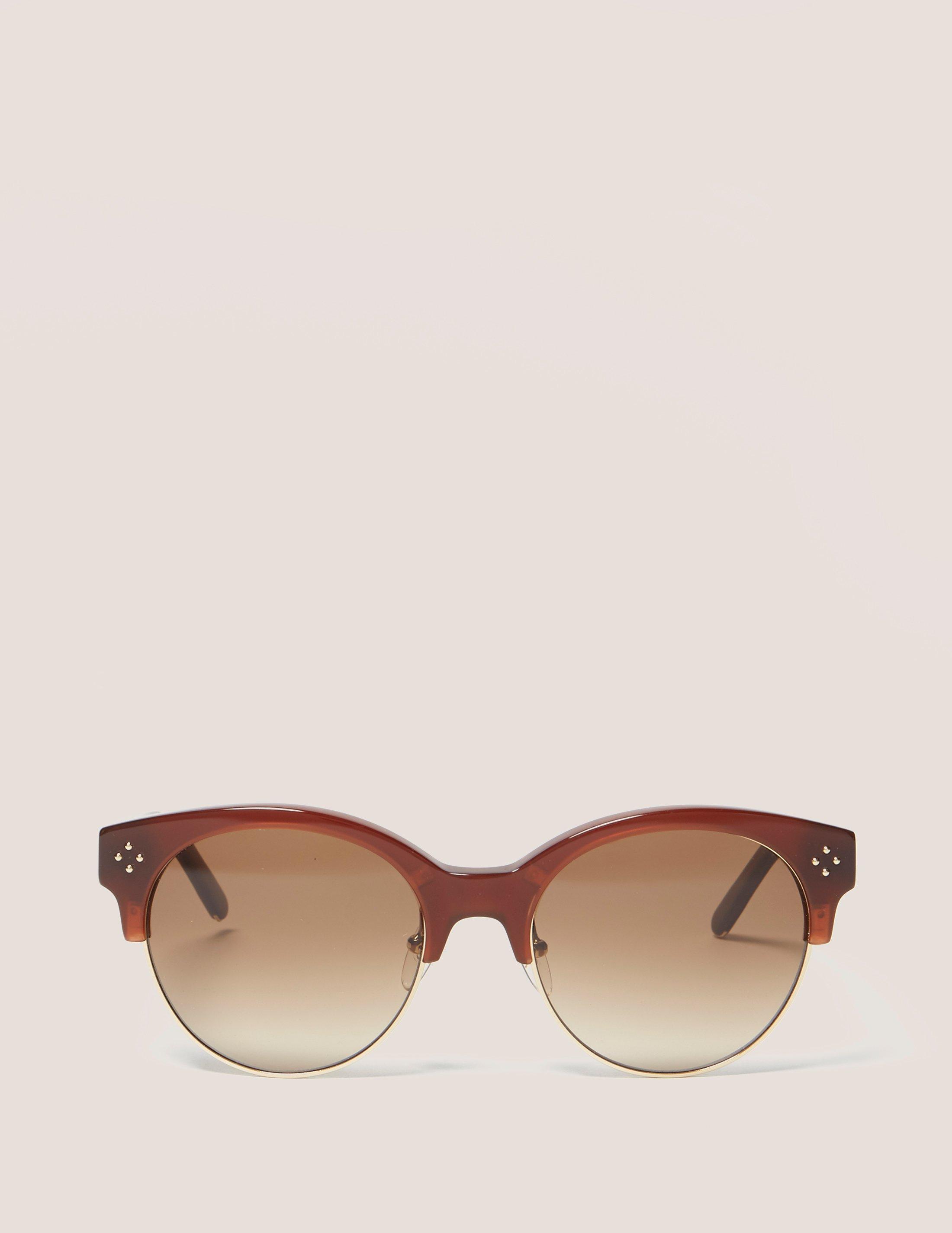 0722eaf2393 Chloé Boxwood Sunglasses in Brown - Lyst