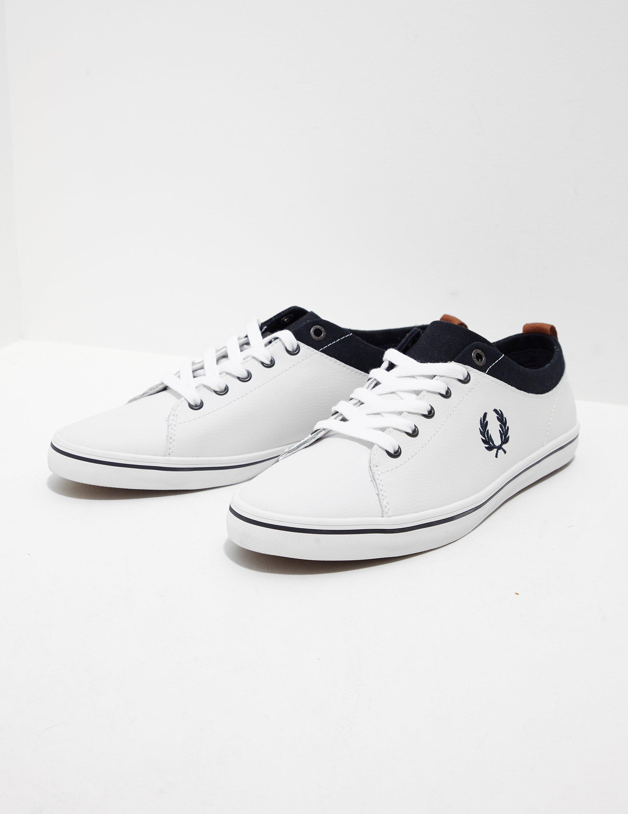 Fred Perry Hallam - Exclusive - Navy/Tan