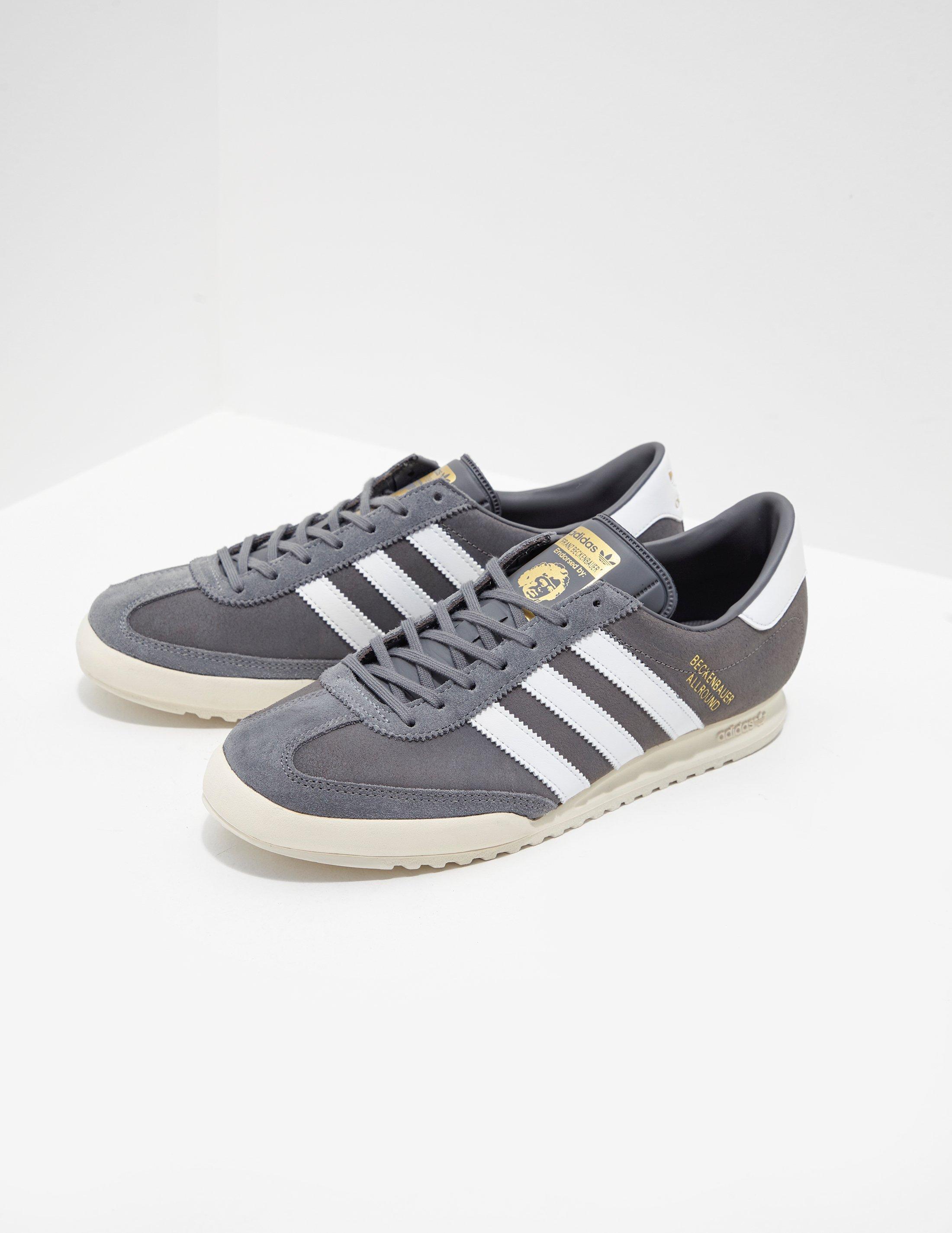 29c939bfea Lyst - adidas Originals Beckenbauer - Exclusively To Tessuti Grey in ...