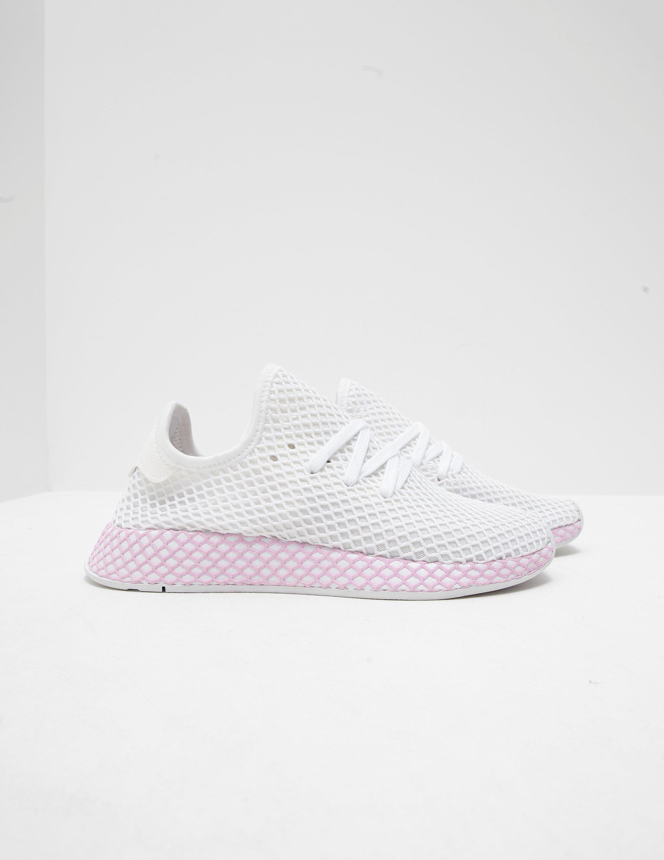277c0dea6cb adidas Originals Womens Deerupt Women s White in White - Lyst