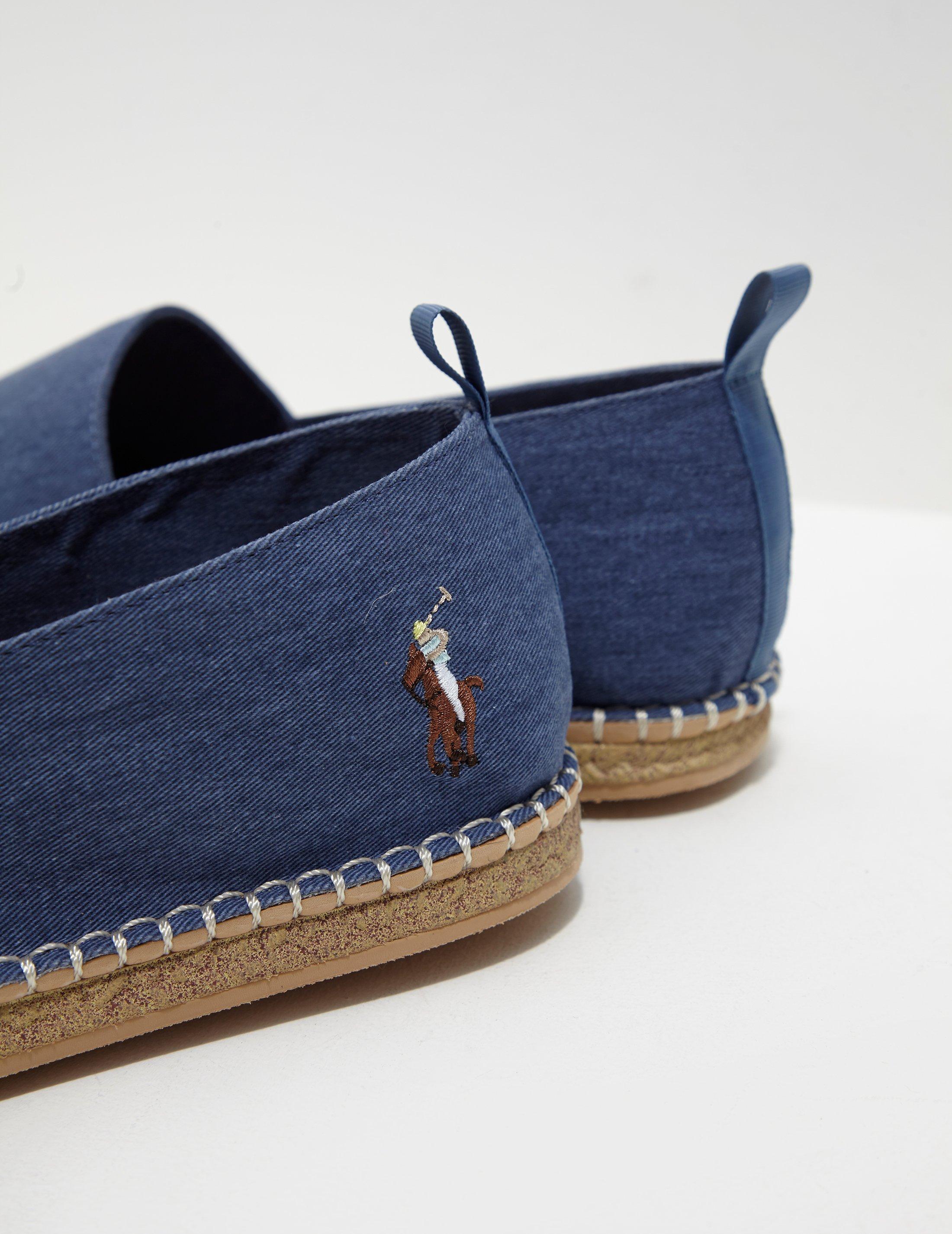 3a8f98047597 Polo Ralph Lauren  barron  Espadrille Blue in Blue for Men - Save 61% - Lyst