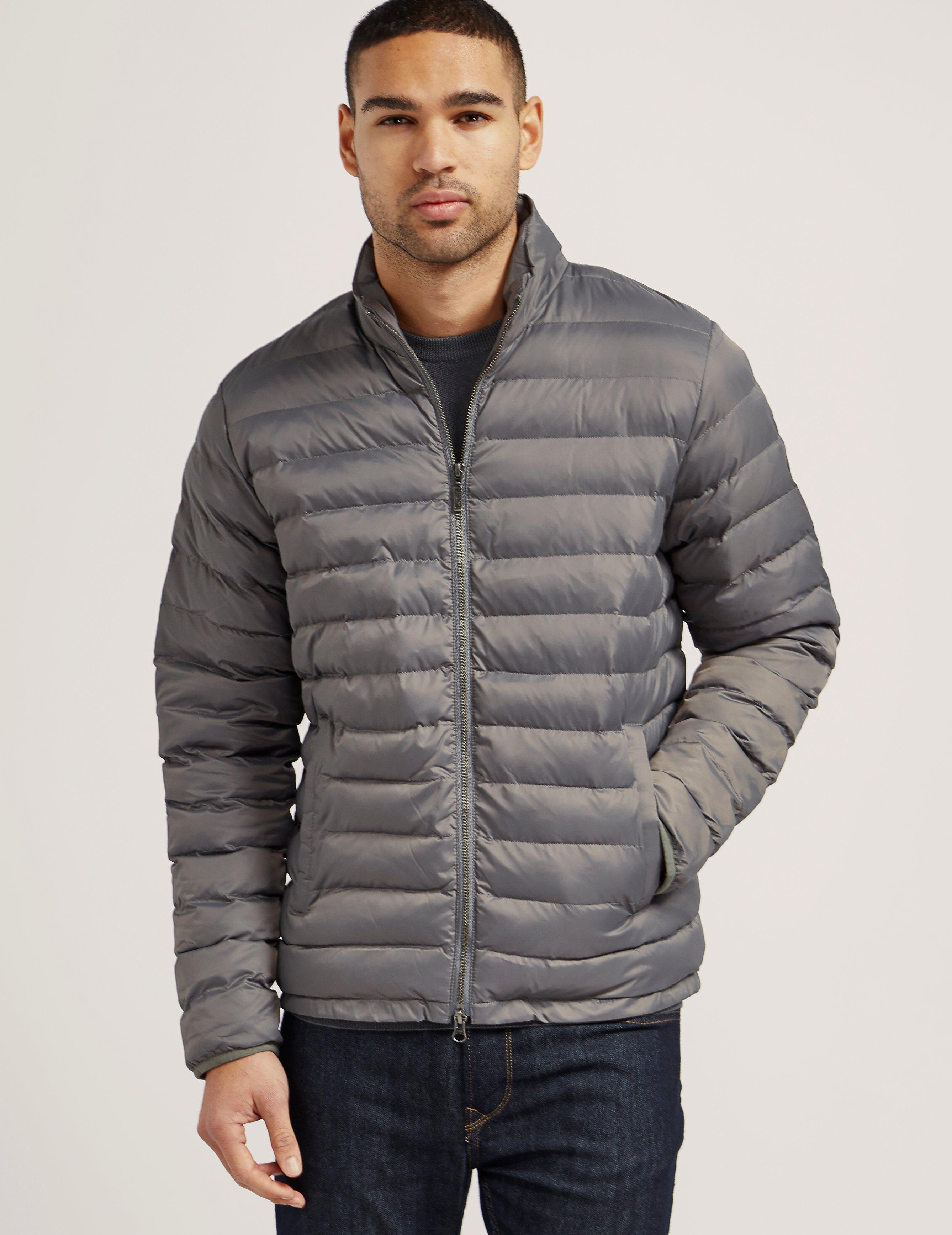 Lyst barbour international impeller quilted jacket in for Quilted jackets for men
