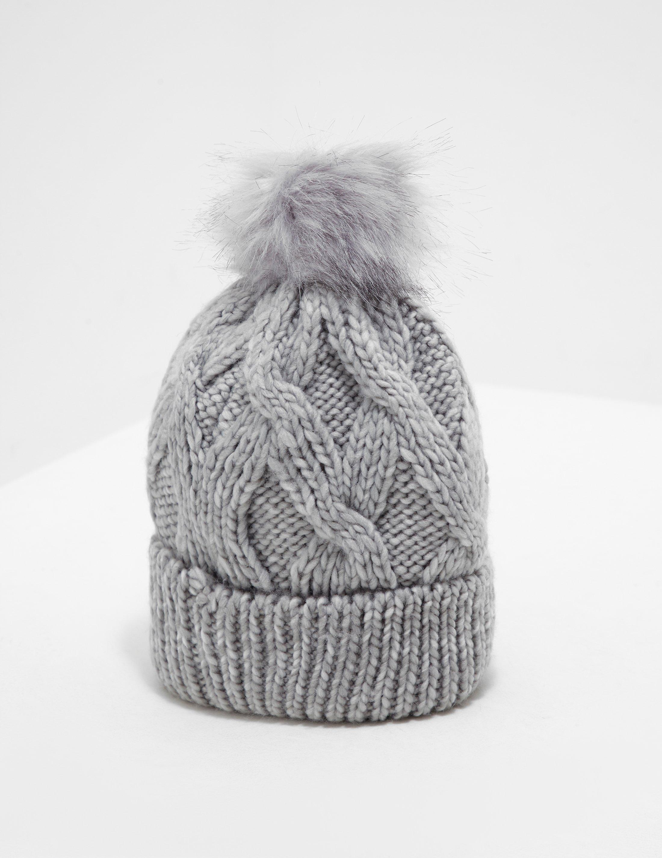 5ed6aebe266 Barbour Bridport Pom Beanie in Gray - Lyst