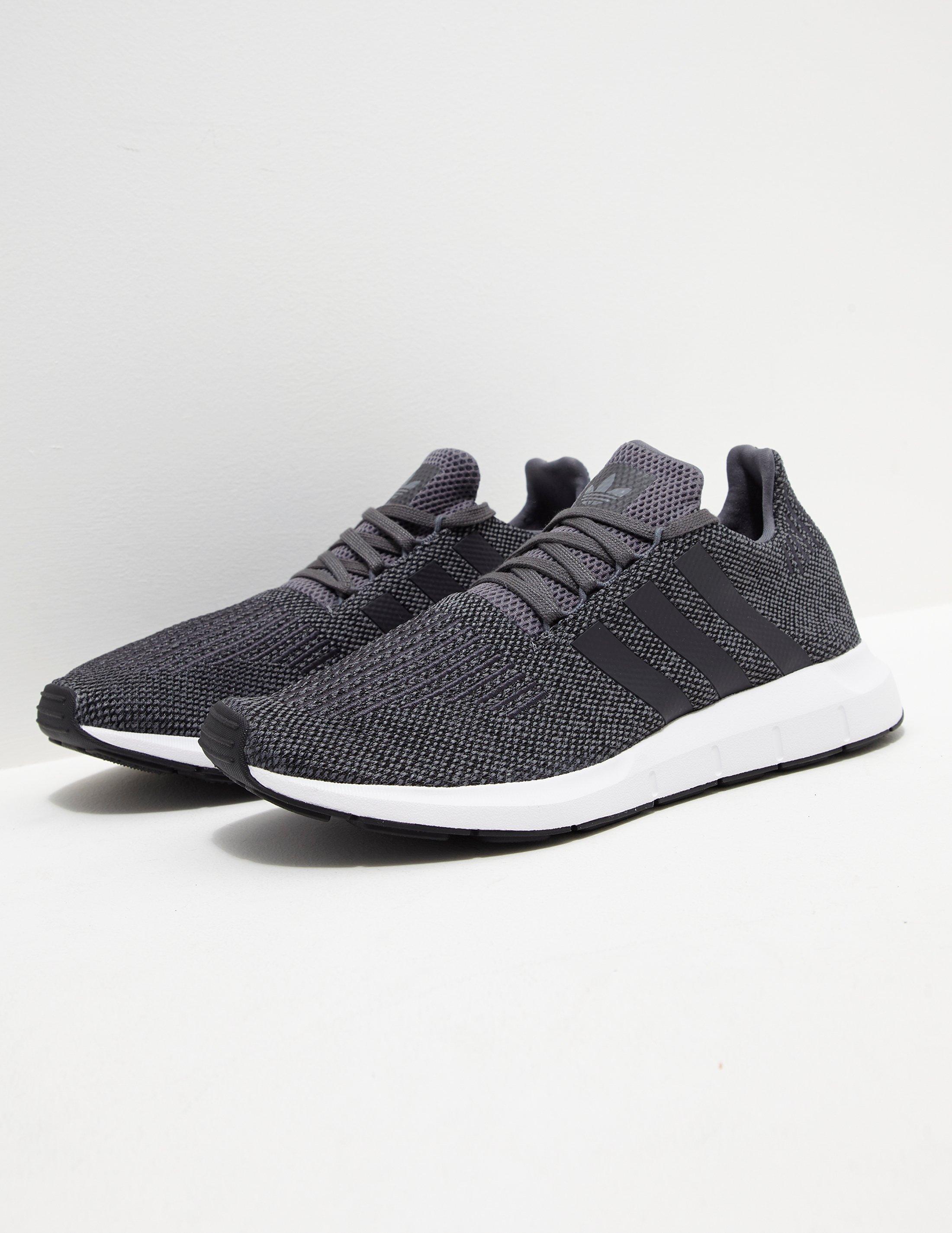 adidas Originals Mens Swift Run Grey white in Gray for Men - Lyst b9feacb1b