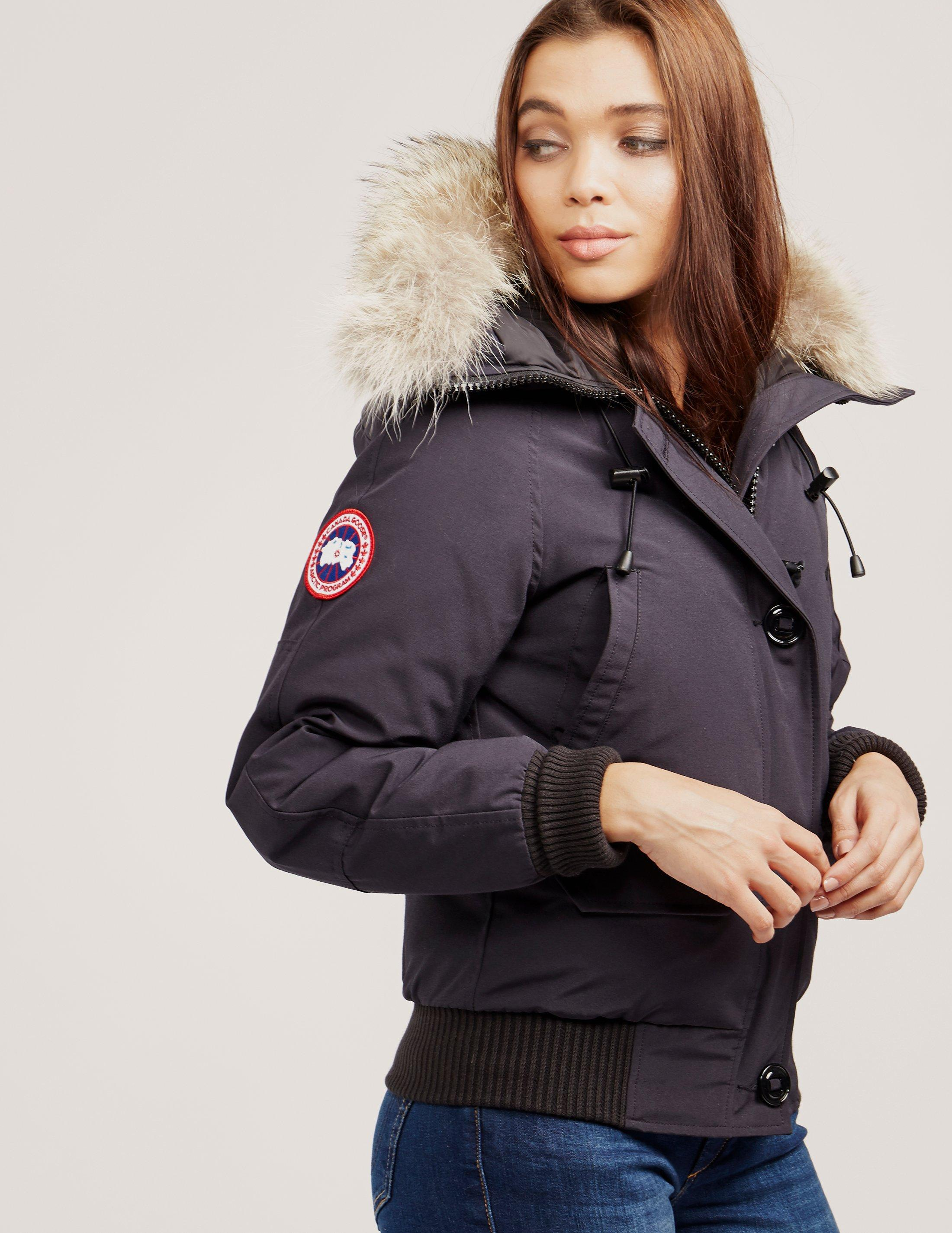 Canada Goose. Women's Blue Chilliwack Bomber