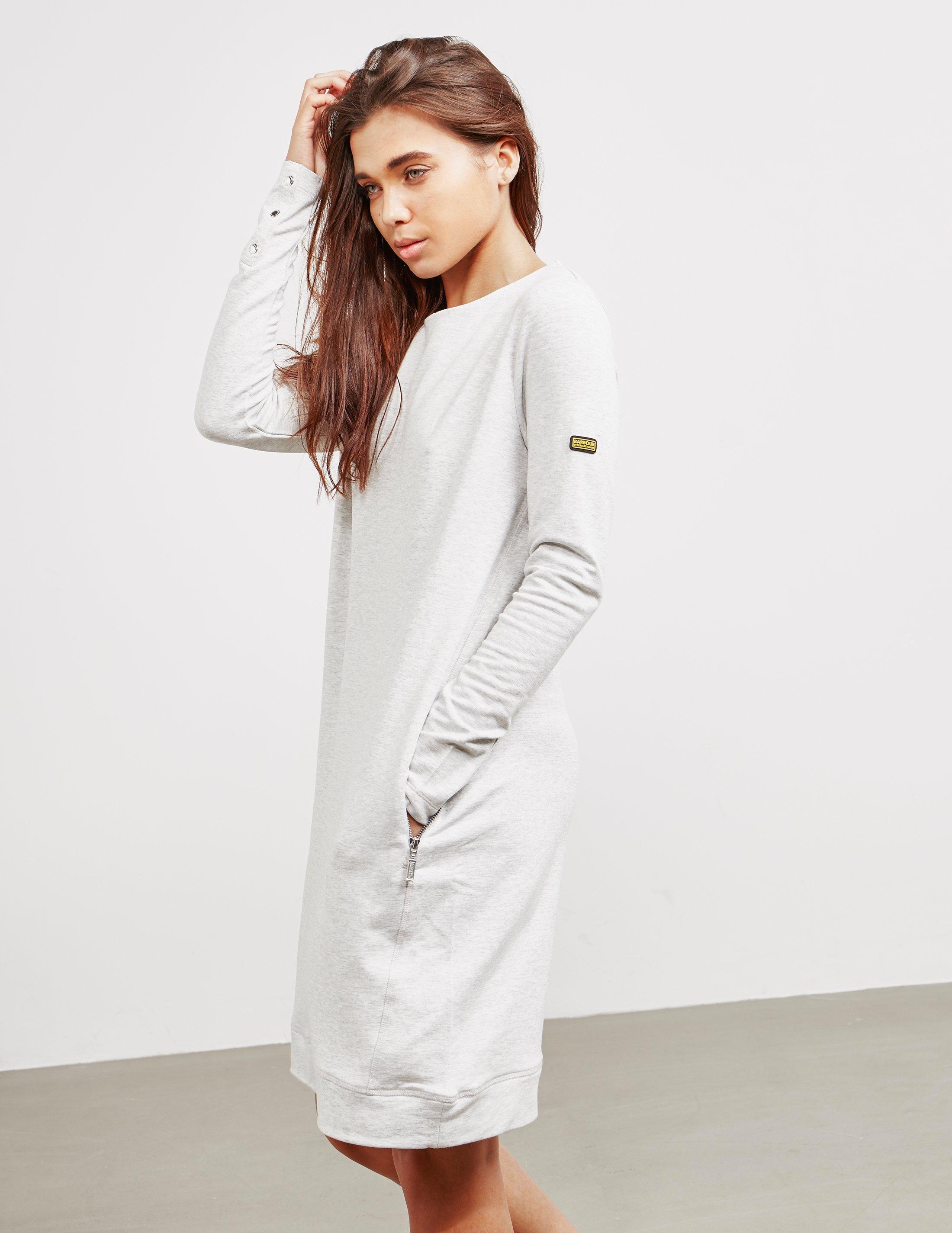 2c42430aa54 Lyst - Barbour Burnett Dress Grey in Gray