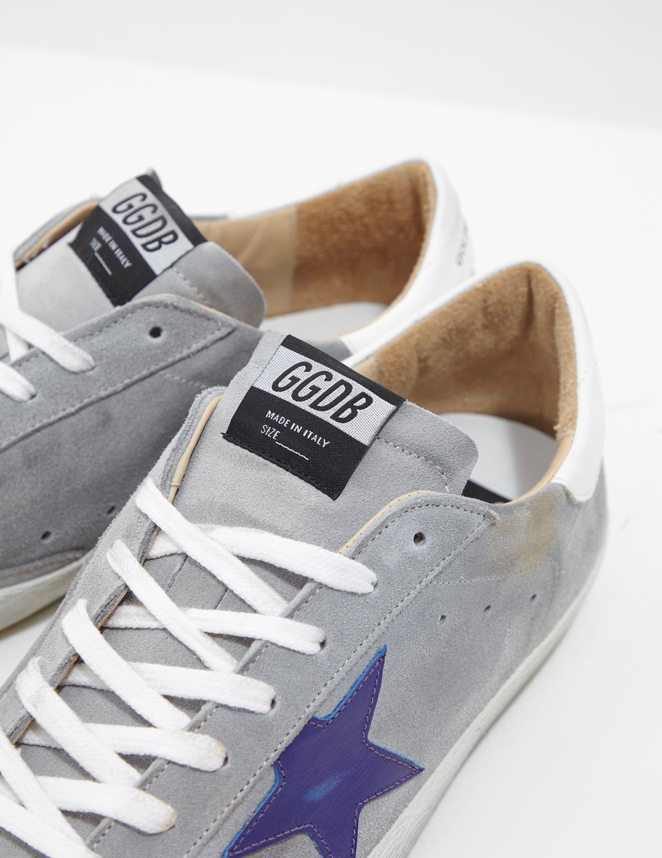 cbbe4c825306 Lyst - Golden Goose Deluxe Brand Mens Superstar Sneakers Blue in Blue for  Men