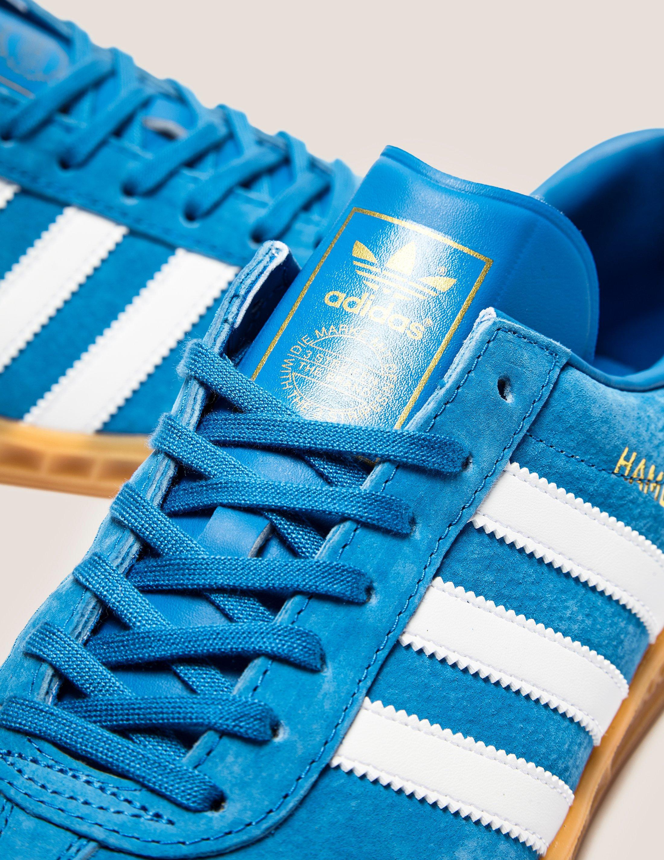 separation shoes a8c27 9c630 Lyst - adidas Originals Mens Hamburg Bluebirdwhitegum, Blueb