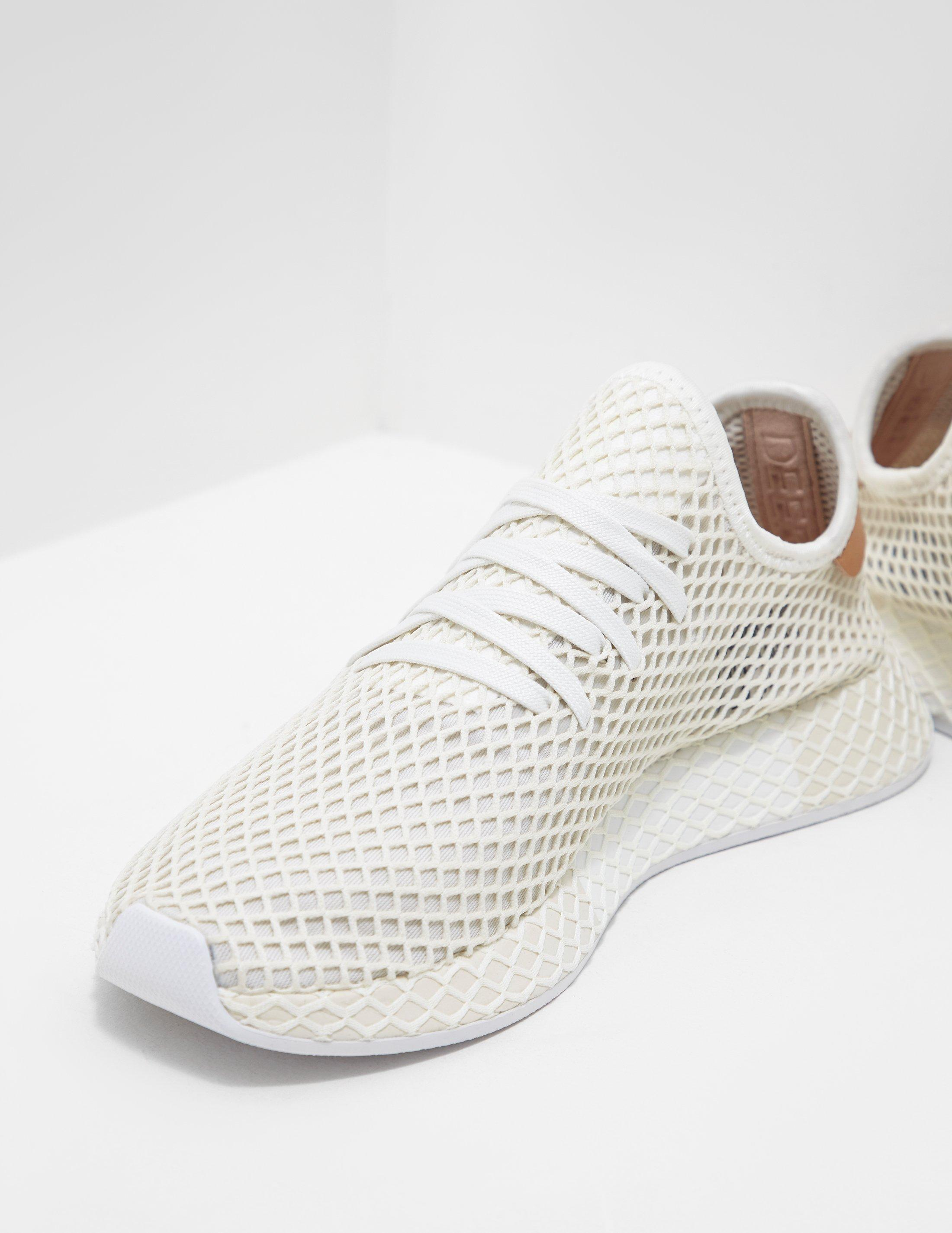 a1f72dc5d Lyst - adidas Originals Deerupt White in White for Men