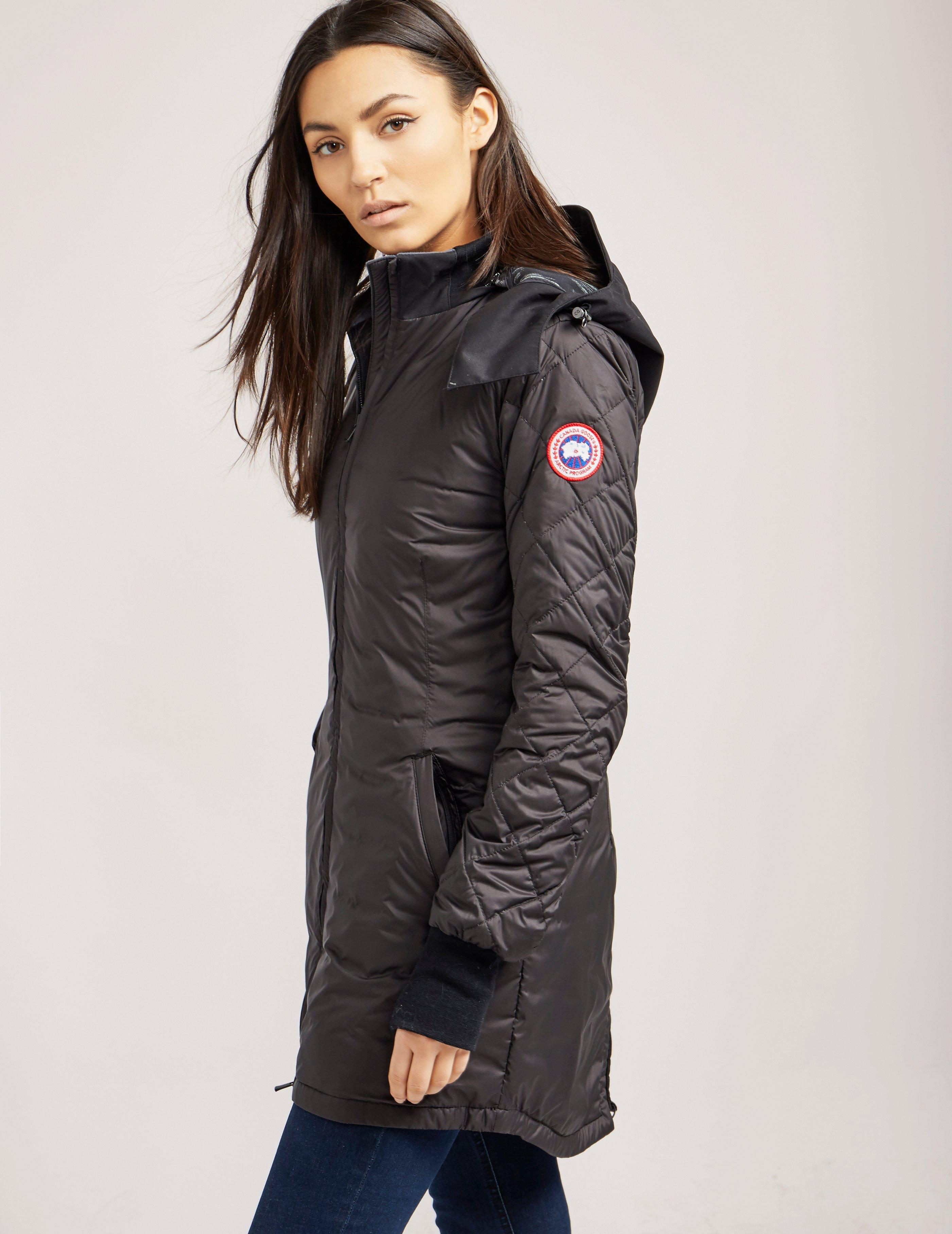 c83eeb6f5c0 ... promo code for canada goose womens stellarton padded jacket black lyst.  view fullscreen 3a13d a719d