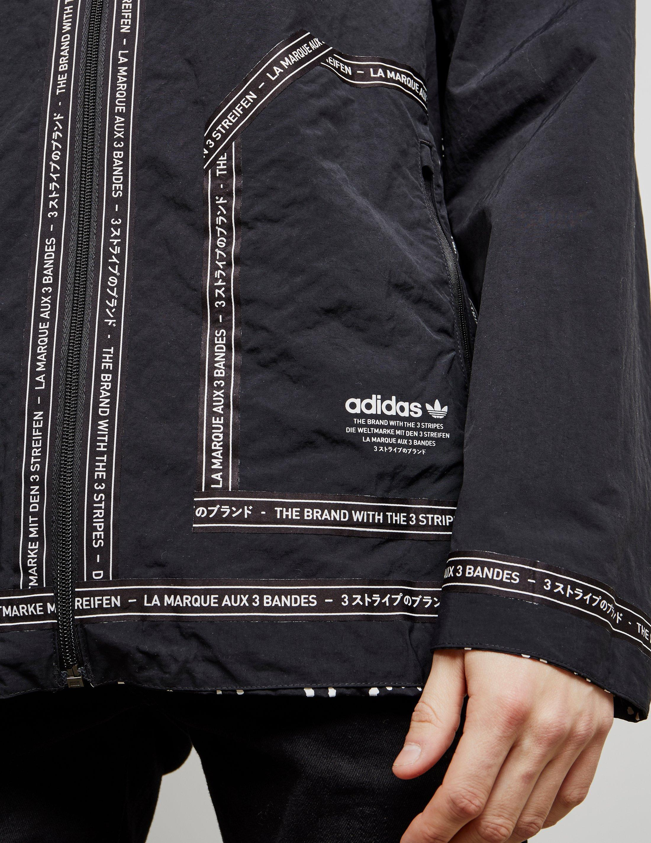 0bcb8c963 adidas Originals Nmd Reversible Lightweight Field Jacket Black in Black for  Men - Save 13% - Lyst