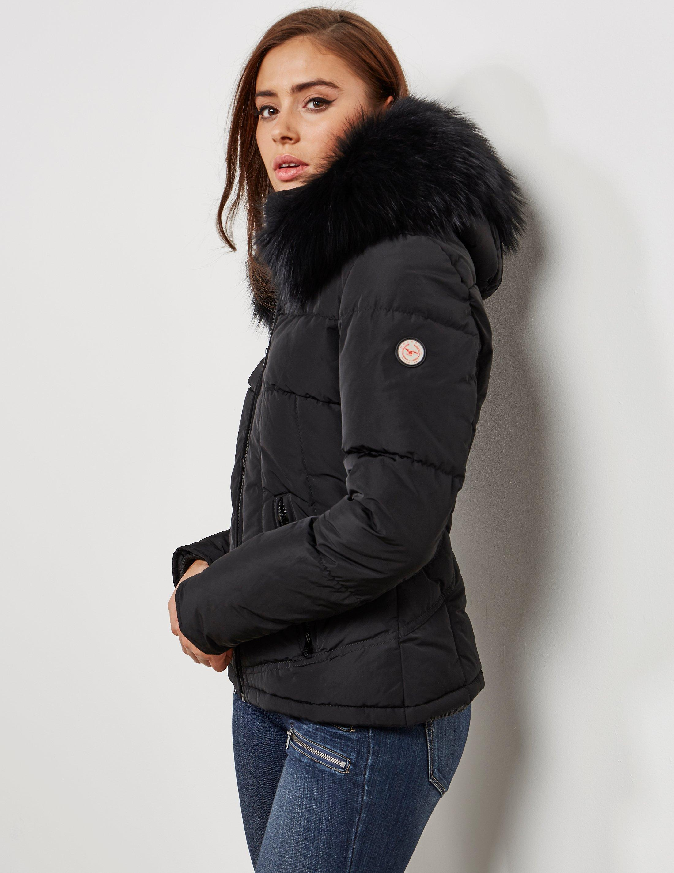 Froccella Womens Padded Jacket Black In Black Lyst