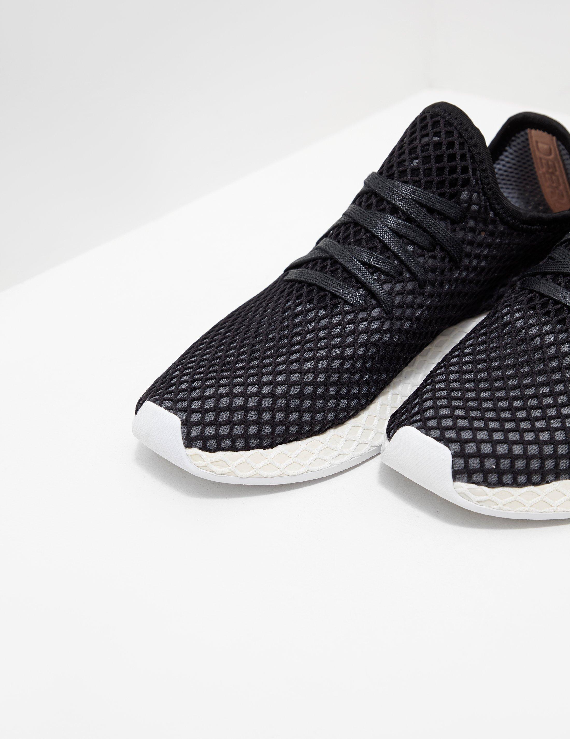 1d1b1fe18727f adidas Originals Deerupt Black in Black for Men - Lyst