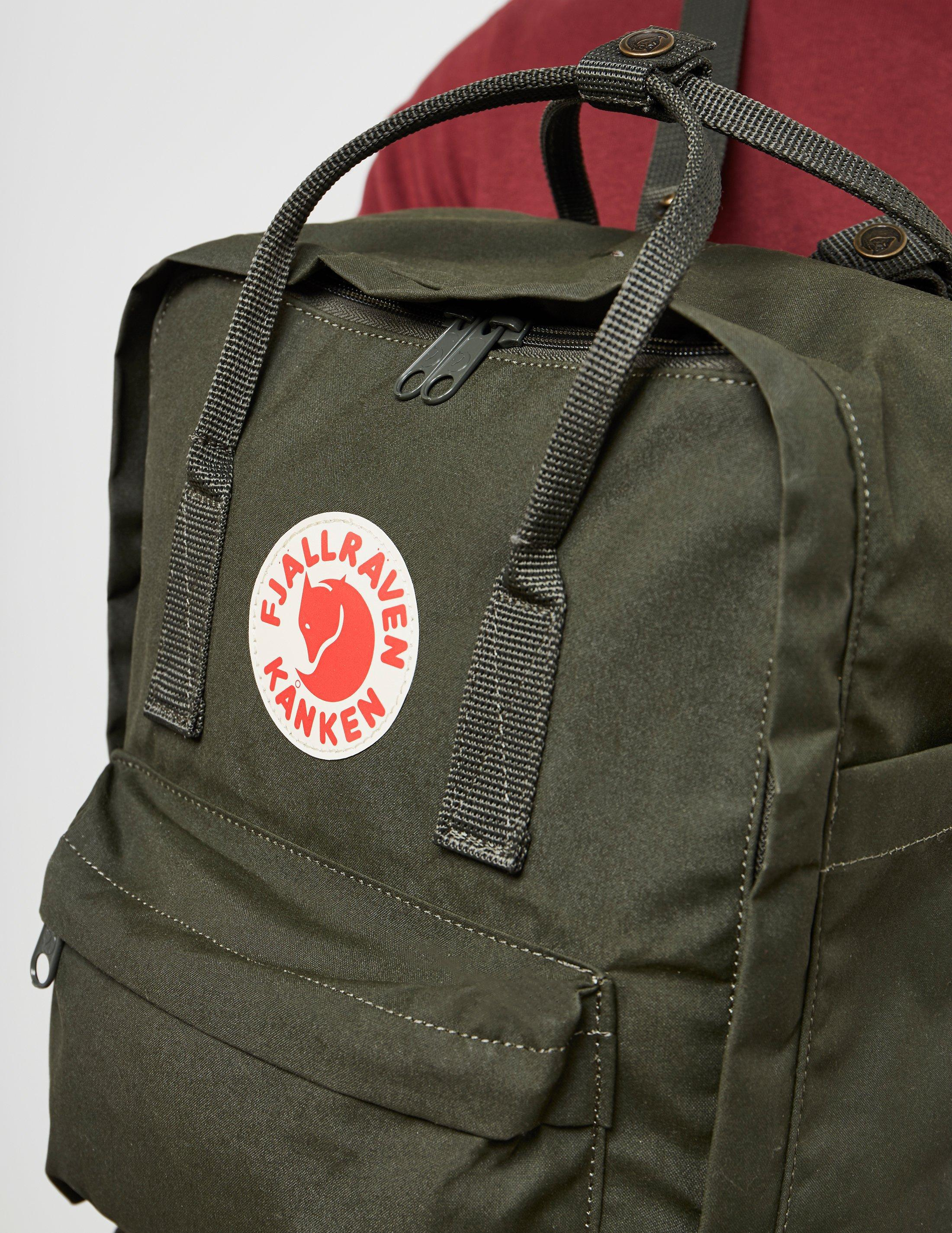 Lyst - Fjallraven Womens Kanken Backpack Green in Green fc05ff06d4