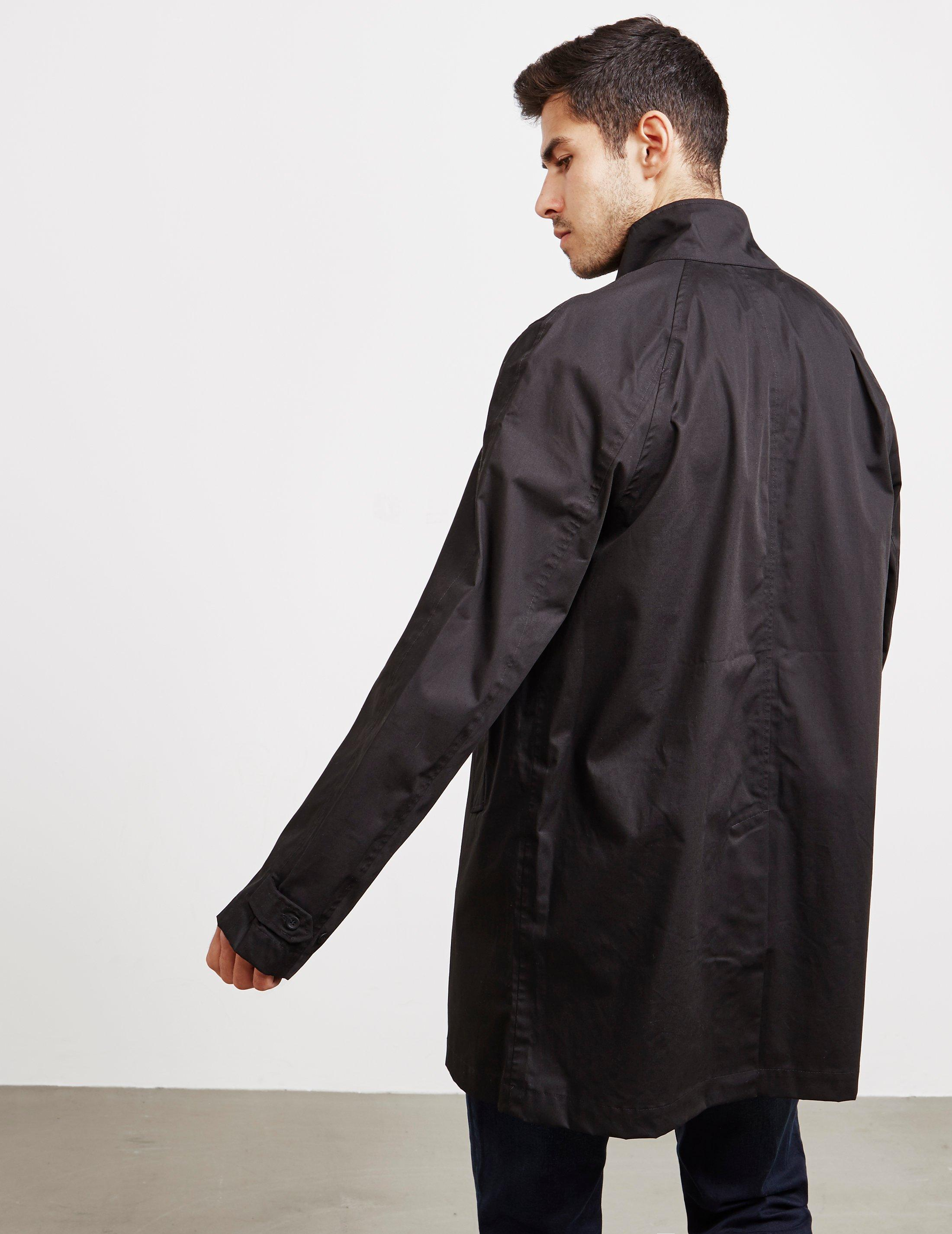 26dad42d4991 Fred Perry - Harrington Mac Jacket Black for Men - Lyst. View fullscreen
