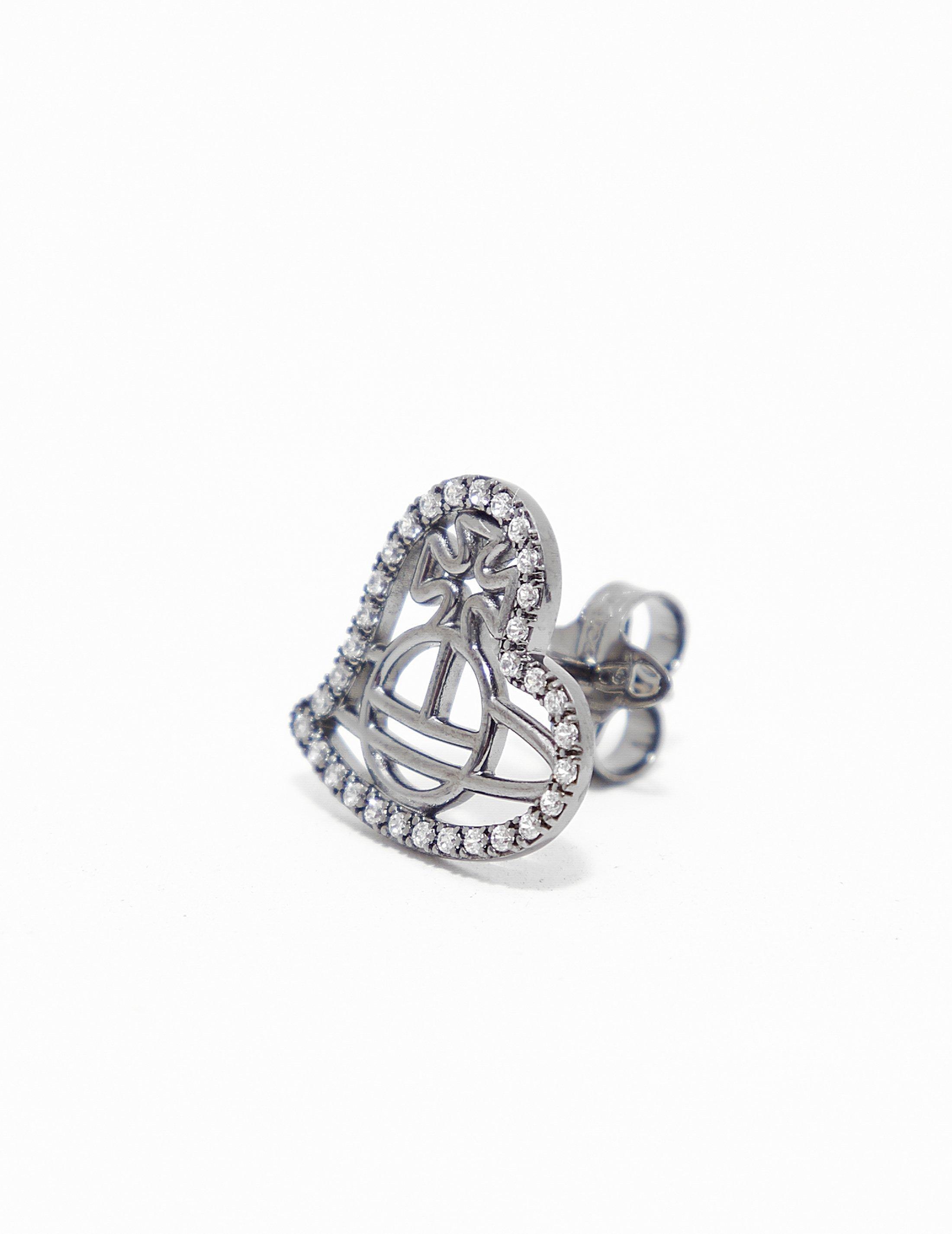762e7f1ea Vivienne Westwood Womens Giuseppa Earrings Silver in Metallic - Lyst