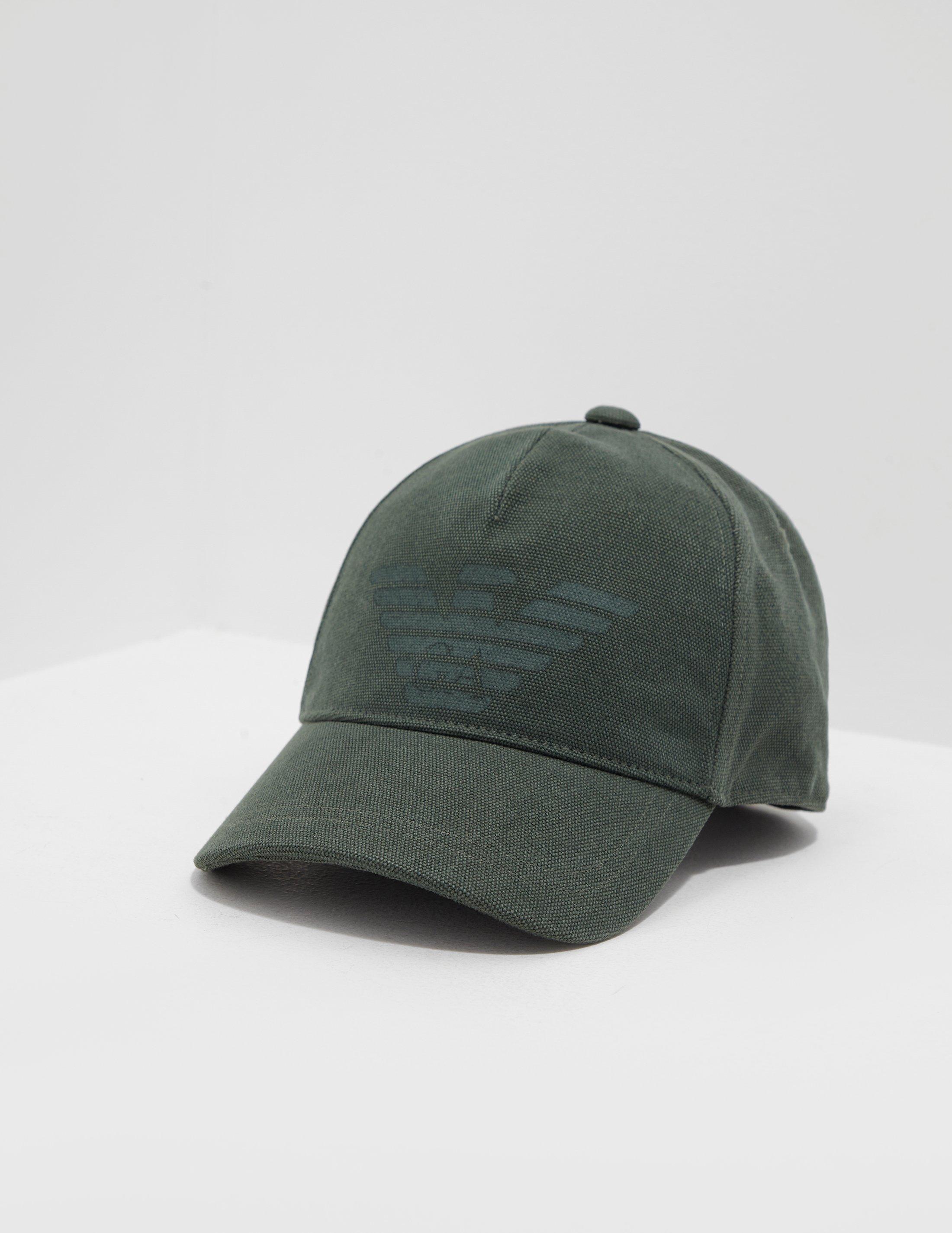 cb221e4c18e05 Emporio Armani Print Eagle Cap Green in Green for Men - Lyst