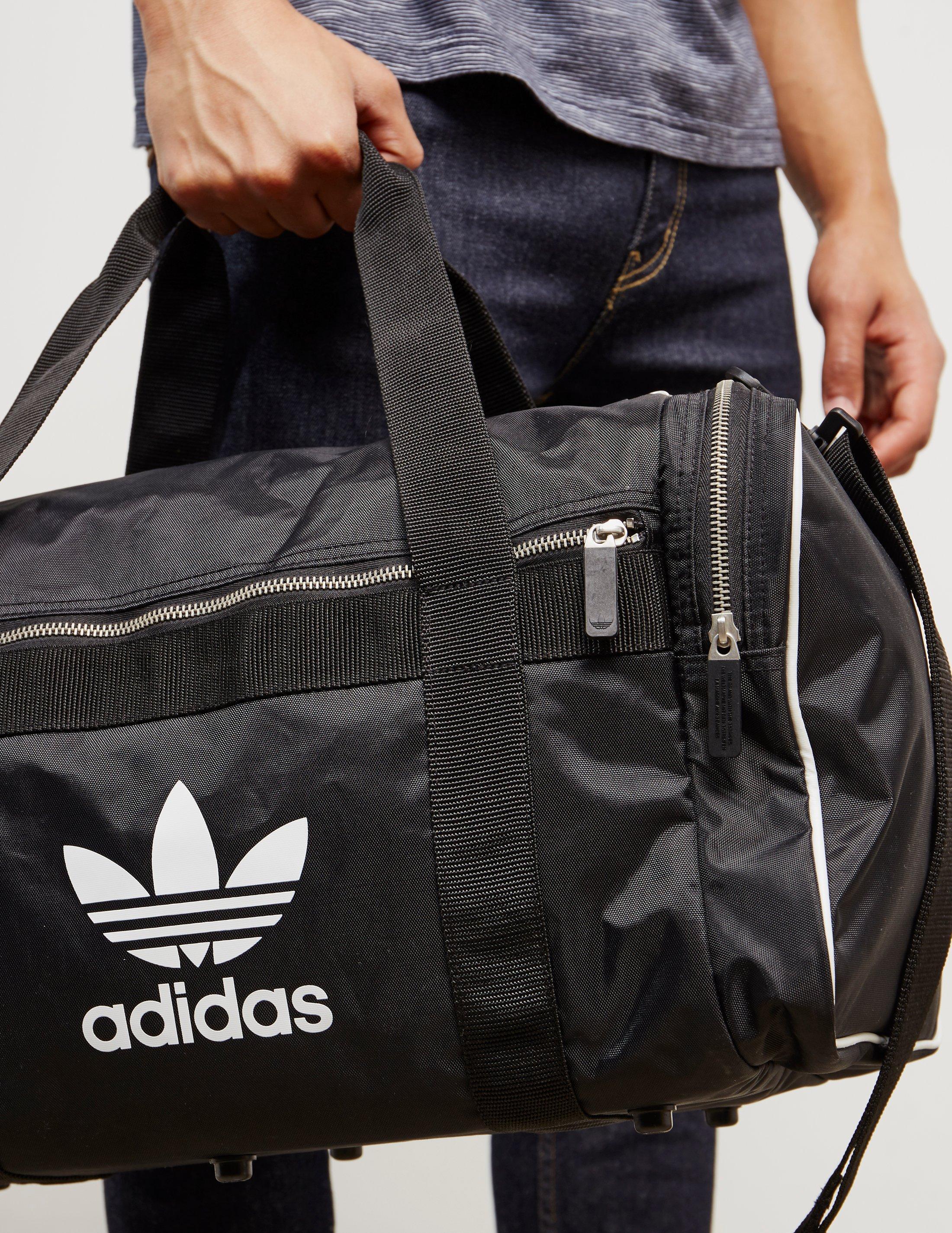 f829840b87 Lyst - adidas Originals Mens Trefoil Duffel Bag Black black in Black ...