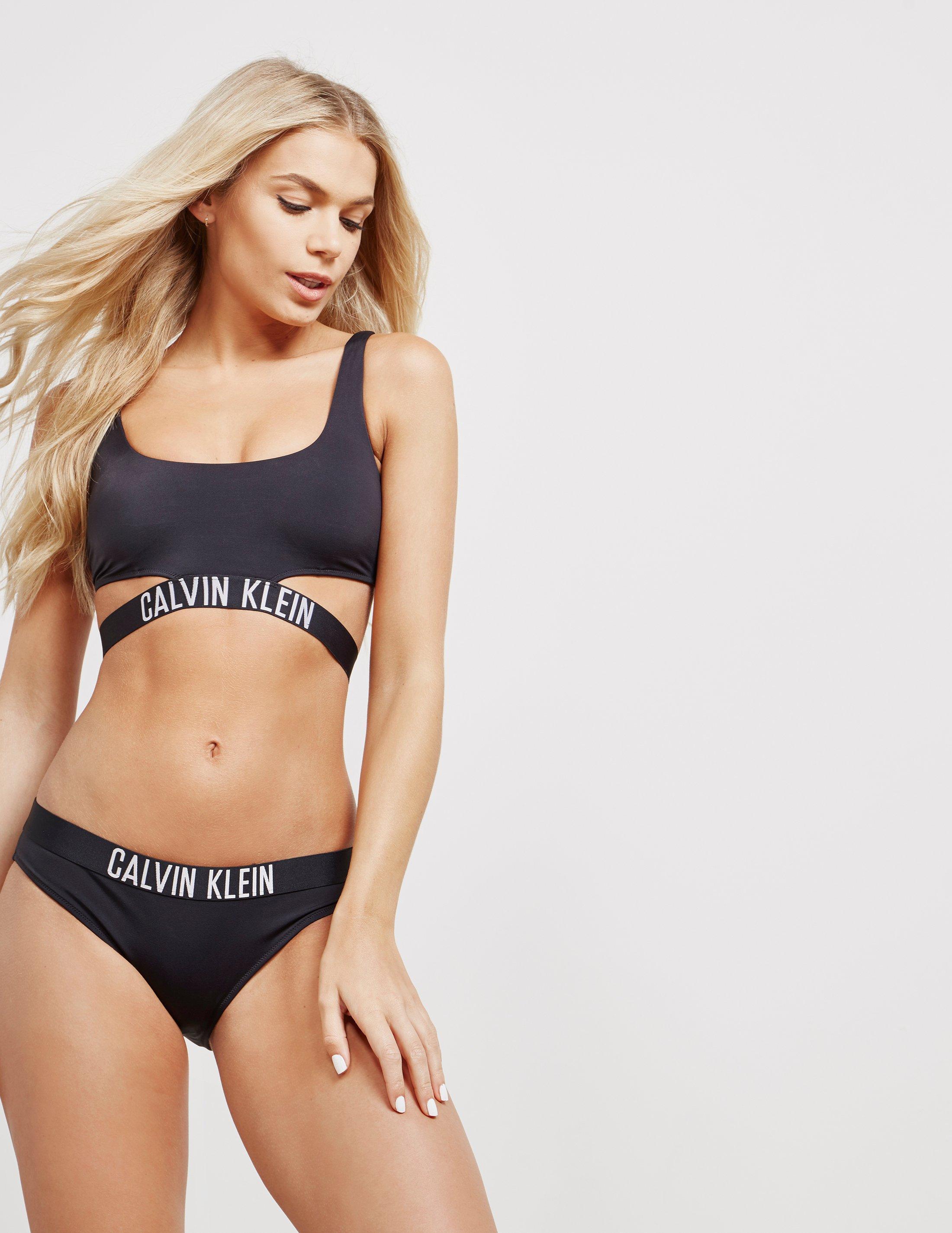 cfc38cc305 Calvin Klein Womens Intense Power Strap Bikini Top - Online ...