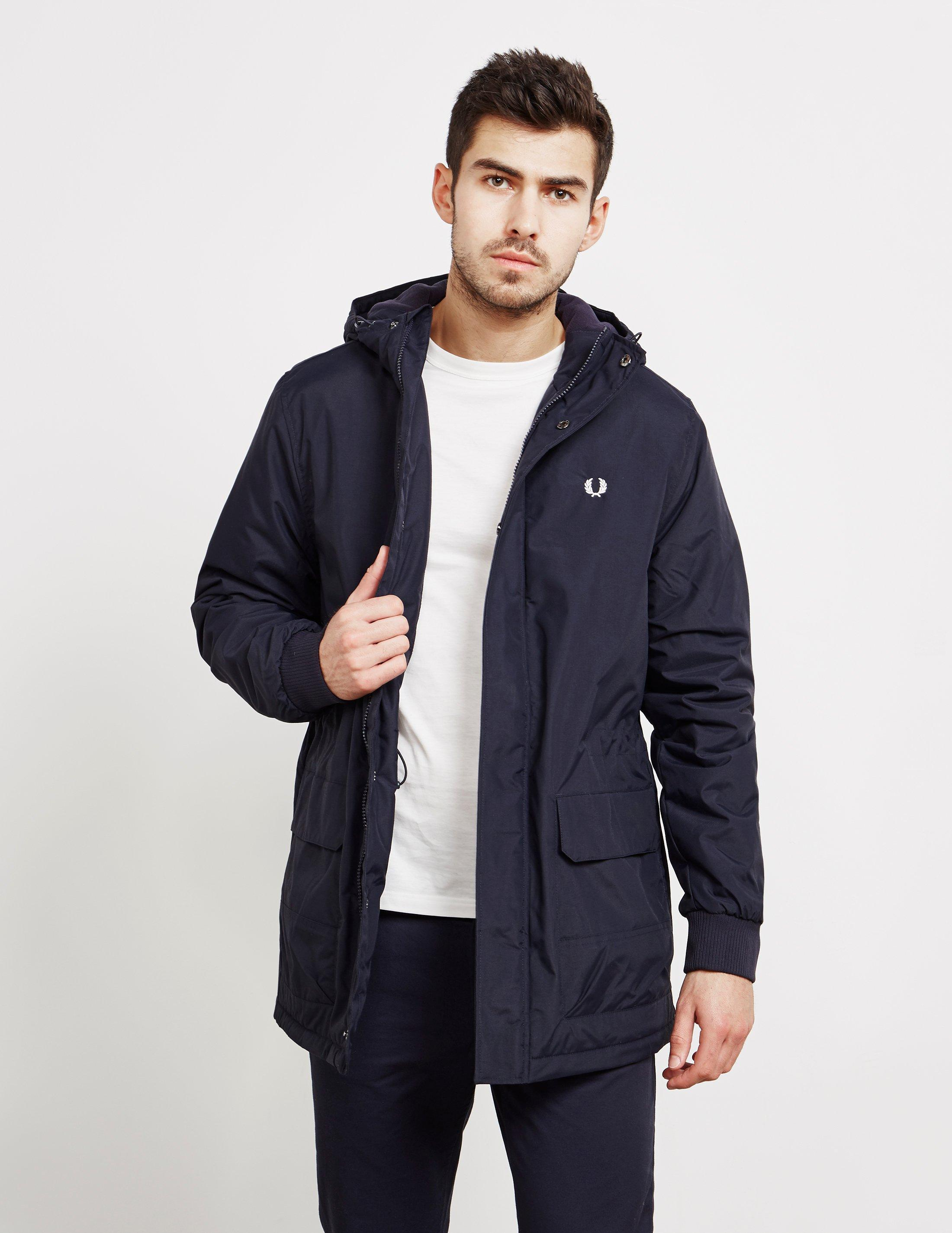 a0aa3cdbb4aa Fred Perry Stockport Lightweight Jacket Navy Blue in Blue for Men - Lyst