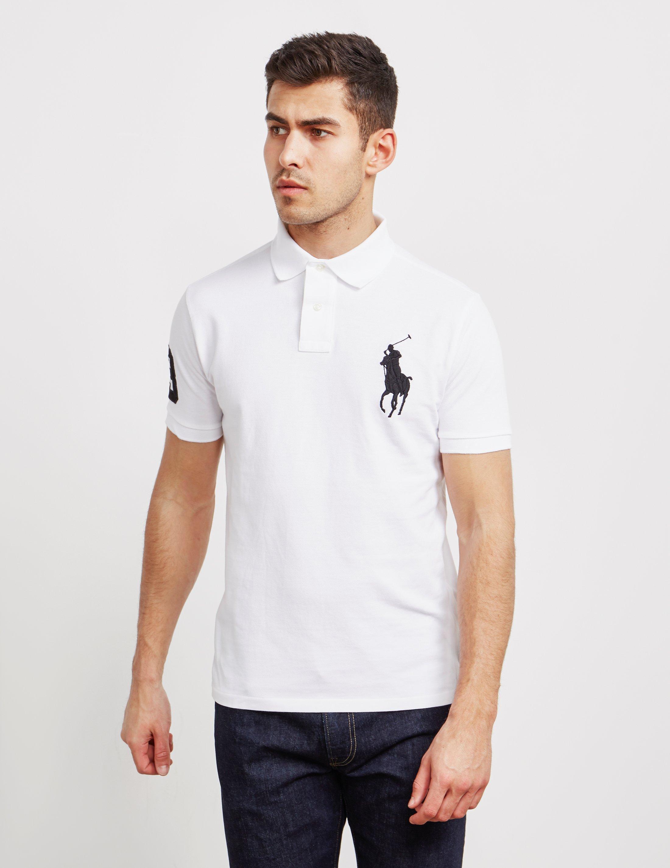 1cea6c19a2d2 Polo Ralph Lauren Large Embroidered Logo Short Sleeve Polo Shirt ...