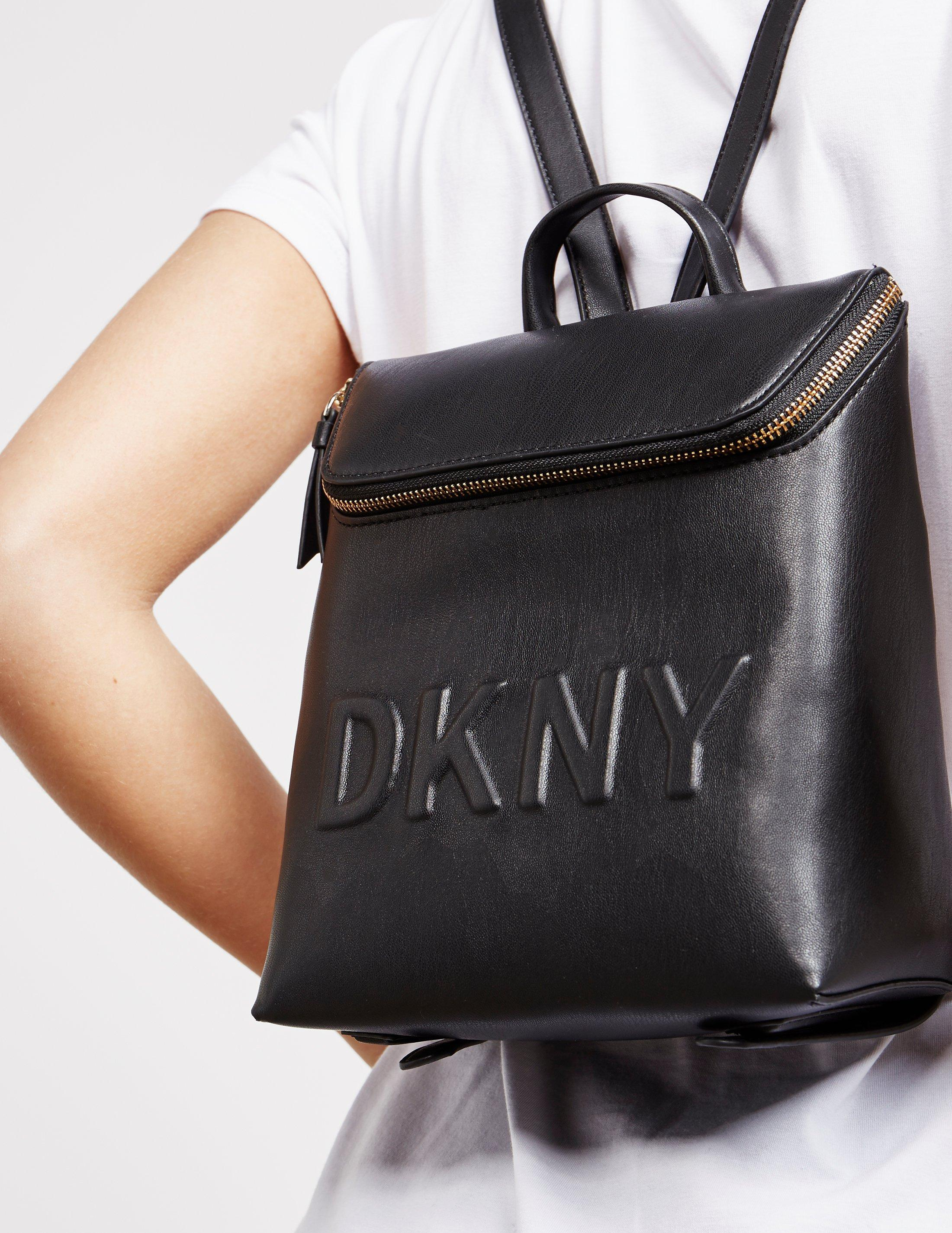 93c84dddea4a Lyst - DKNY Womens Tilly Backpack - Online Exclusive Black in Black