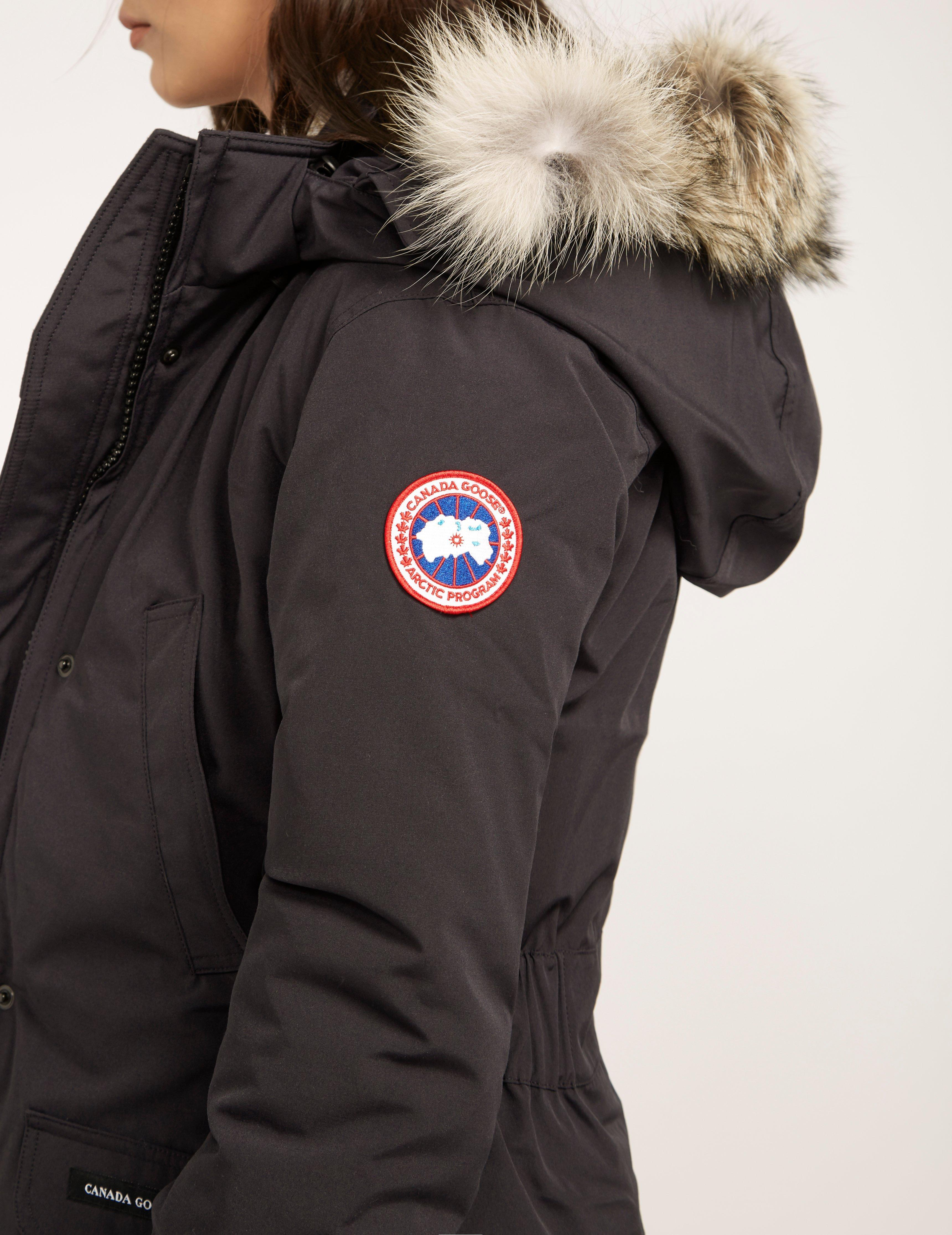 c1637c47ad6 Canada Goose Trillium Padded Parka Jacket Navy Blue in Blue - Save 7% - Lyst