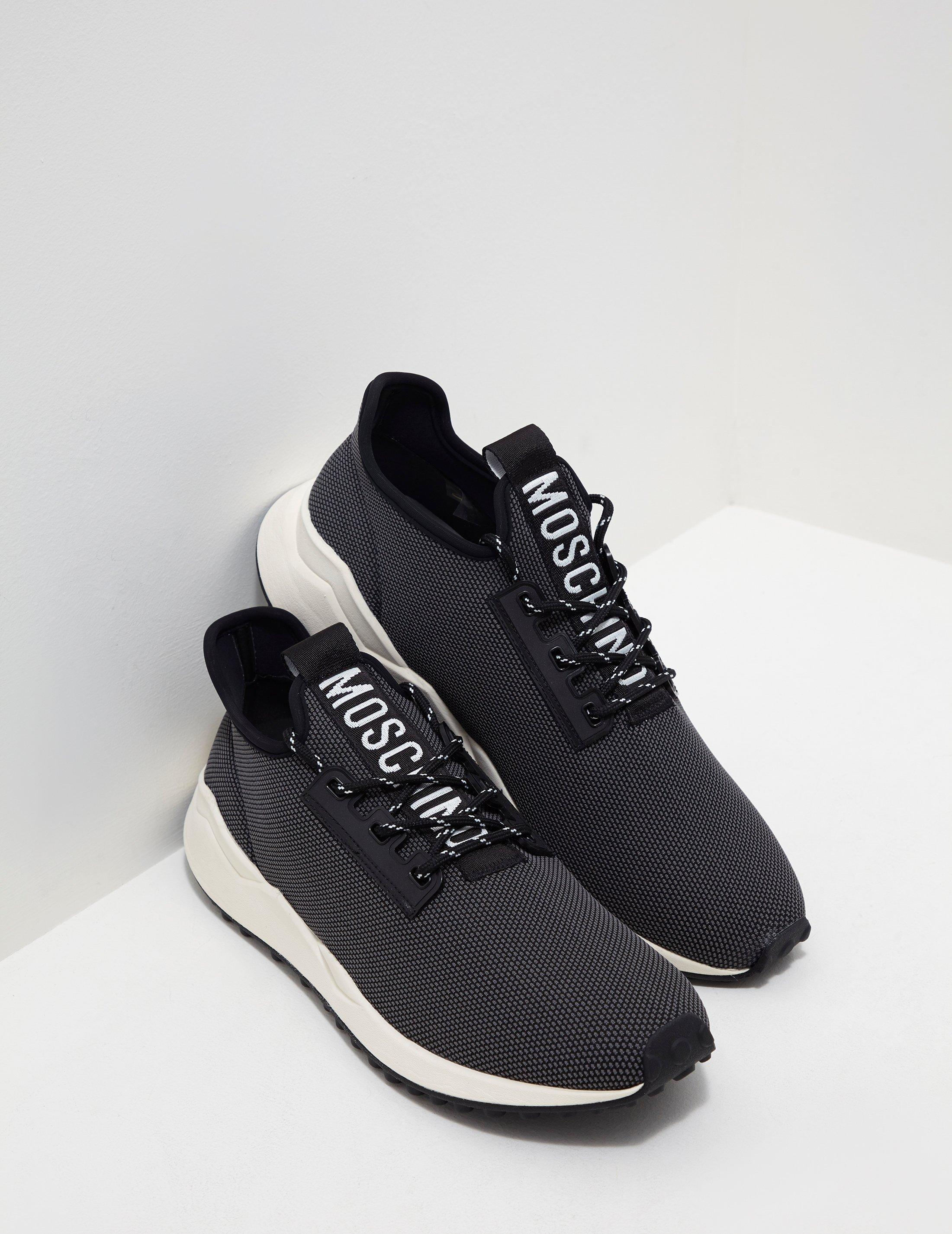 d627b35e5c Lyst - Love Moschino Nylon Sneakers Black in Black for Men - Save 28%