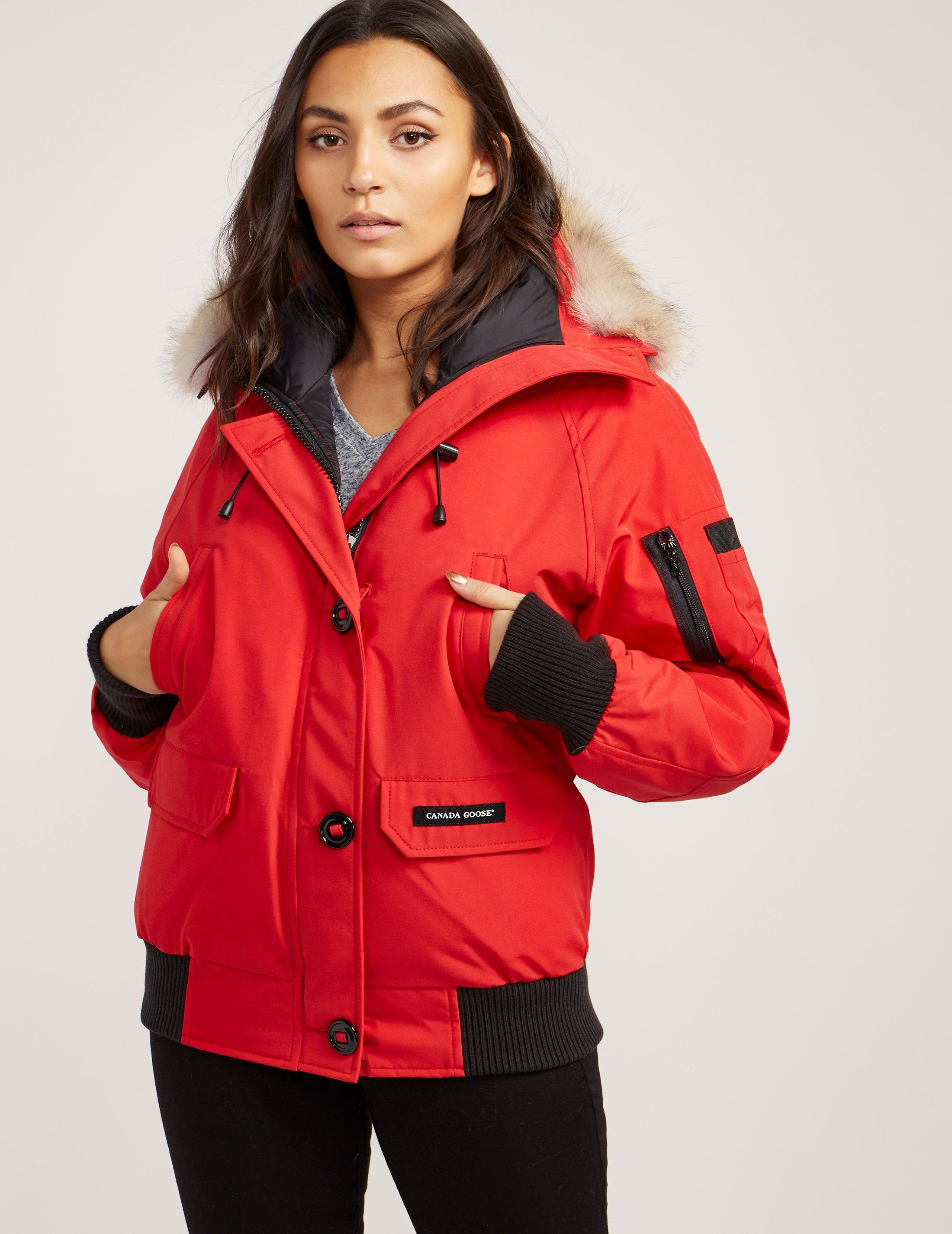 canada goose red bomber
