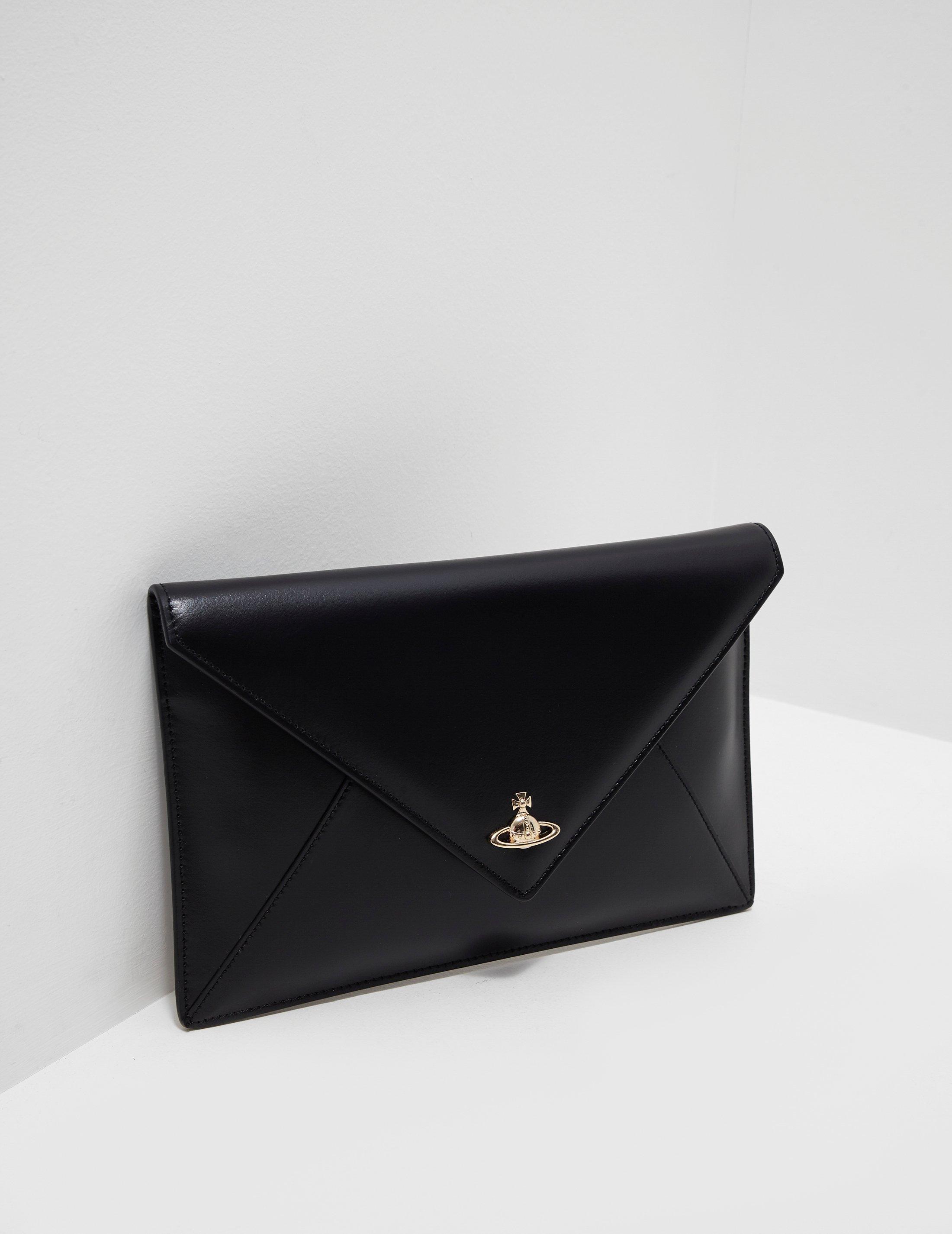 77eae0daec709 Lyst - Vivienne Westwood Private Pouch Clutch Bag Black in Black