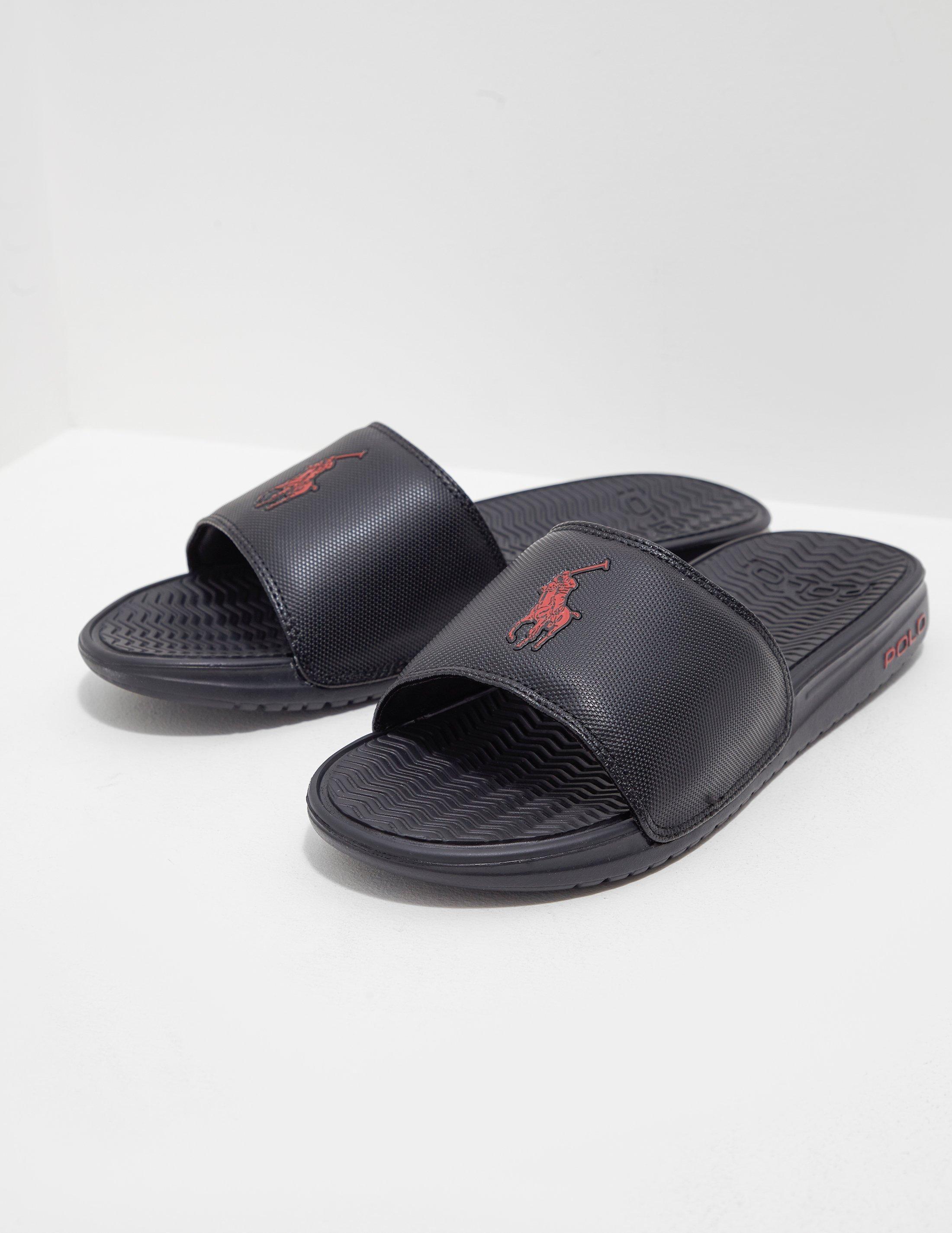 03bf5351cc89 Polo Ralph Lauren Rodwell Slide Sandal in Black for Men - Save 49 ...