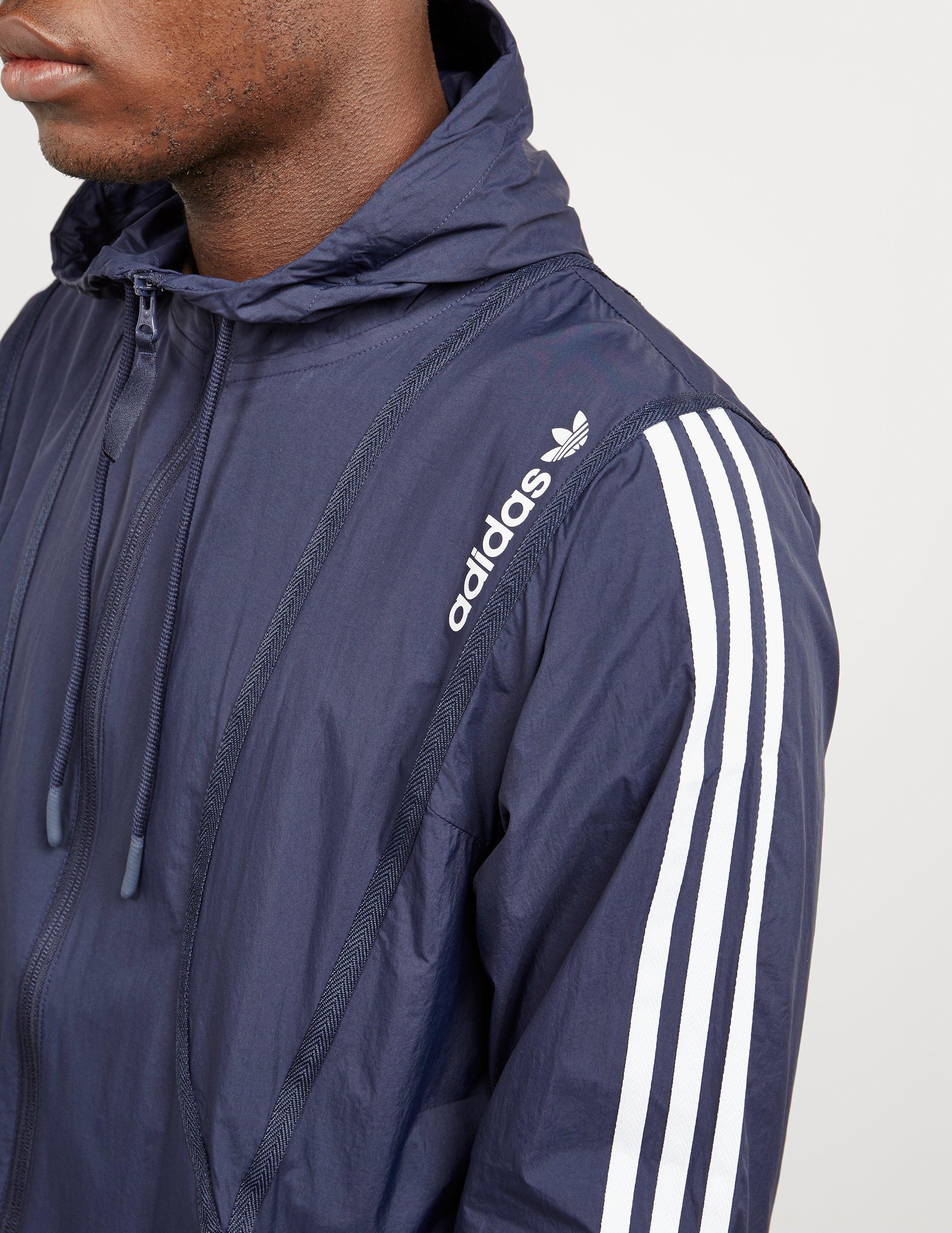 ec8728e9547e9 Lyst - adidas Originals Clr84 Windbreaker Jacket in Blue for Men