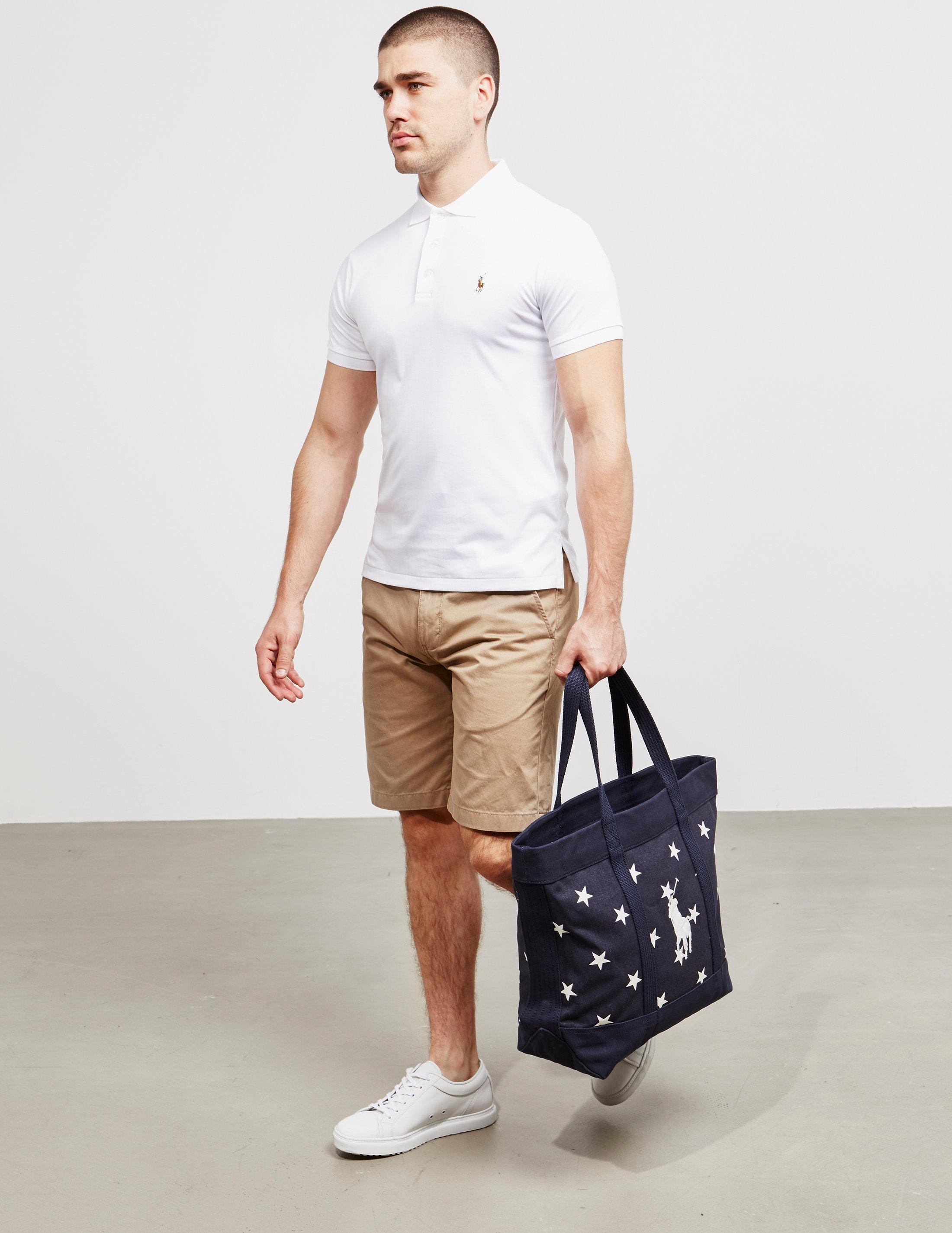 702775306b Polo Ralph Lauren Mens Stars Tote Bag - Online Exclusive Navy Blue in Blue  for Men - Lyst