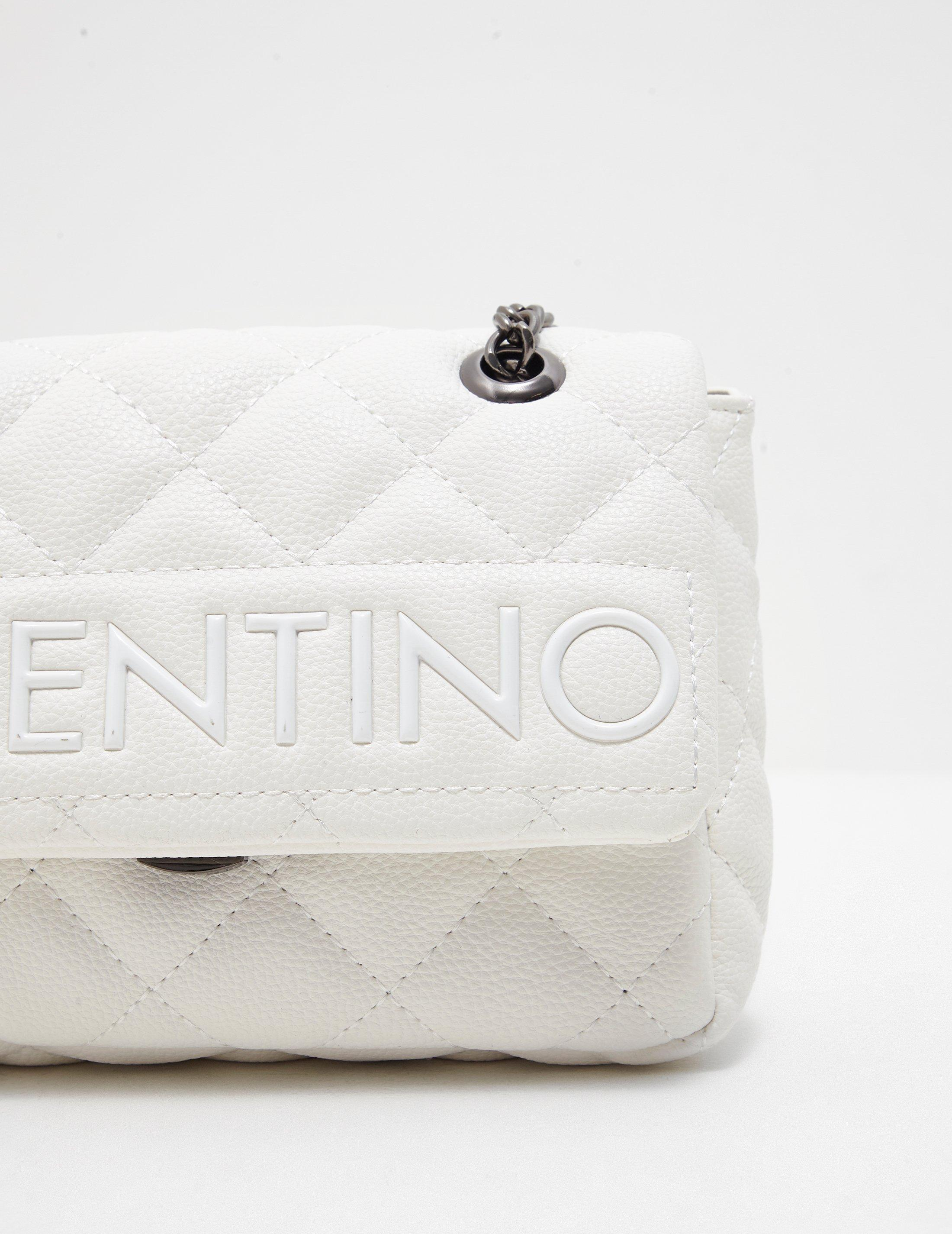 6fcc00f4b Tap to visit site. Valentino By Mario Valentino - Licia Quilted Cross Body  Bag White - Lyst