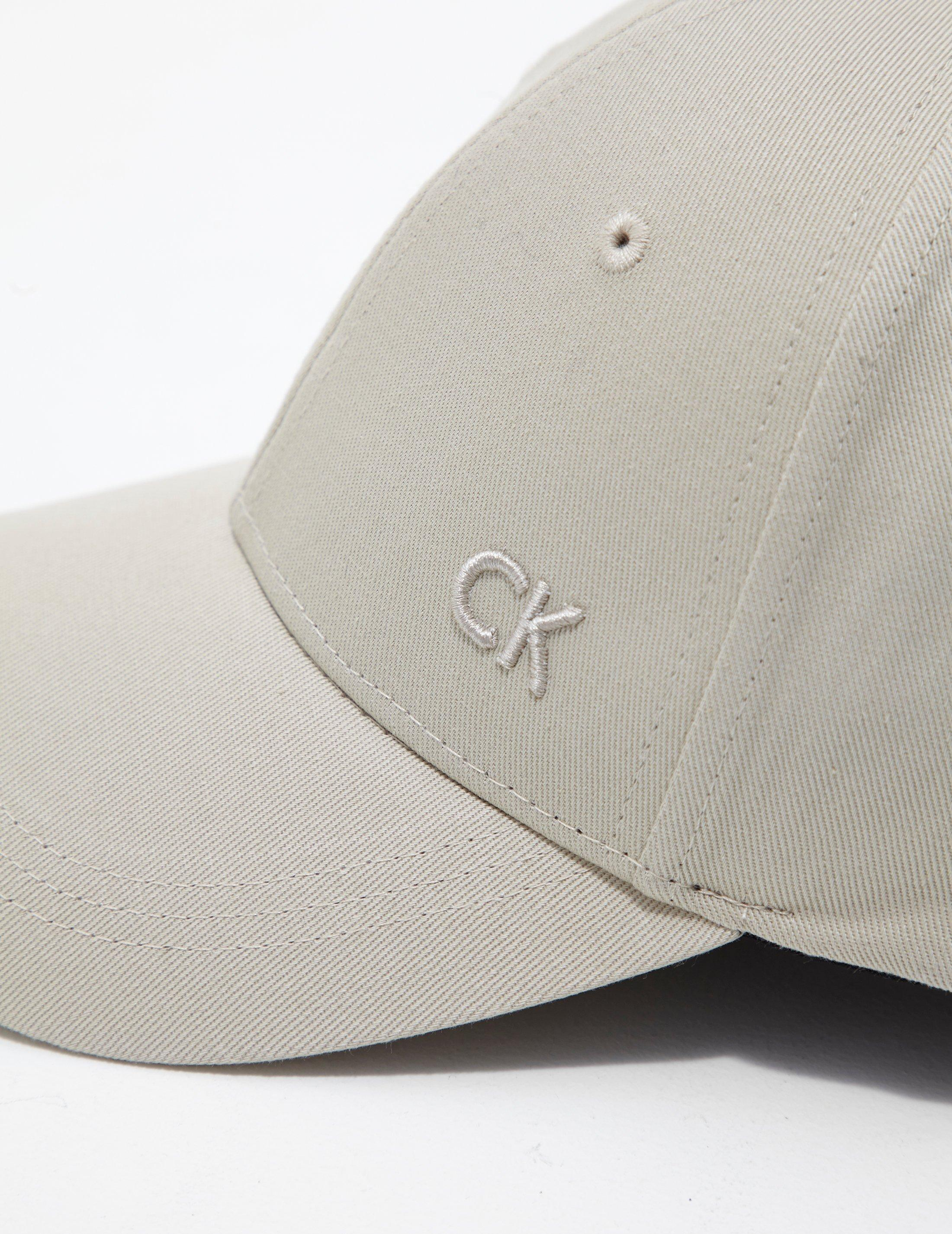 a81fd8fed8b Calvin Klein Mens Baseball Cap - Online Exclusive Cement cement for ...