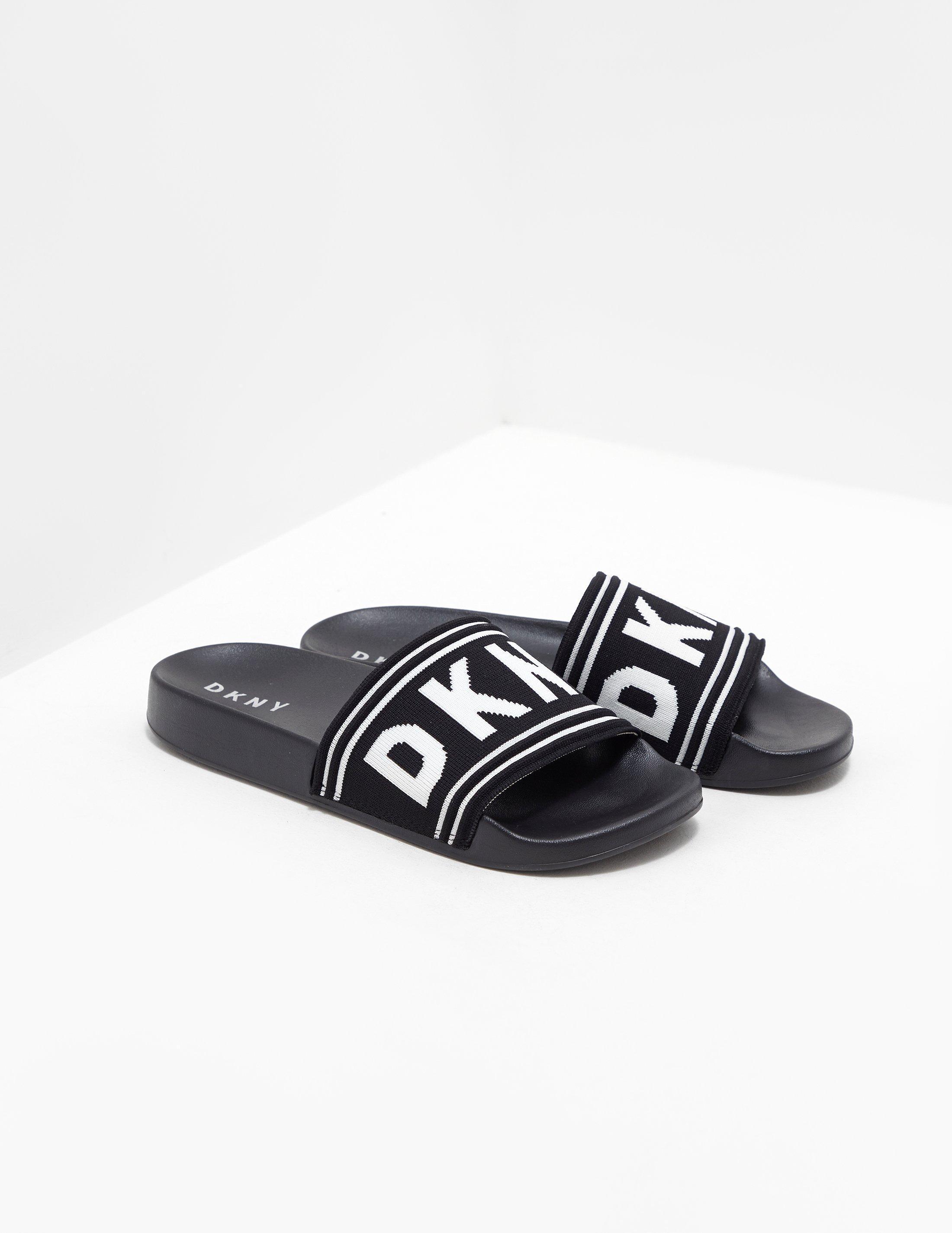 4128d35df9b081 DKNY - Black Sandals - Lyst. View fullscreen