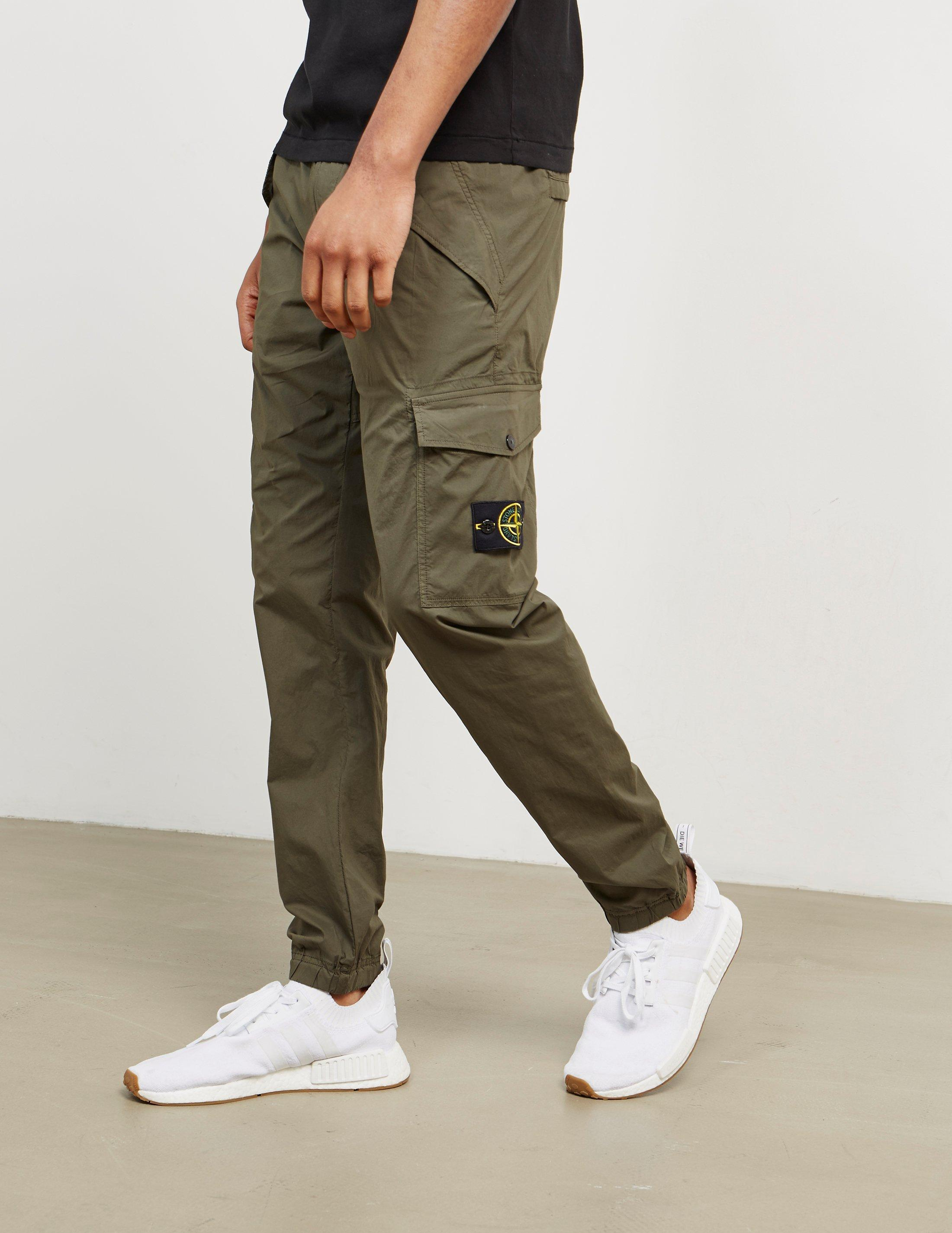 outlet for sale great discount sale finest selection Stone Island Cotton Mens Cargo Pants Green for Men - Lyst