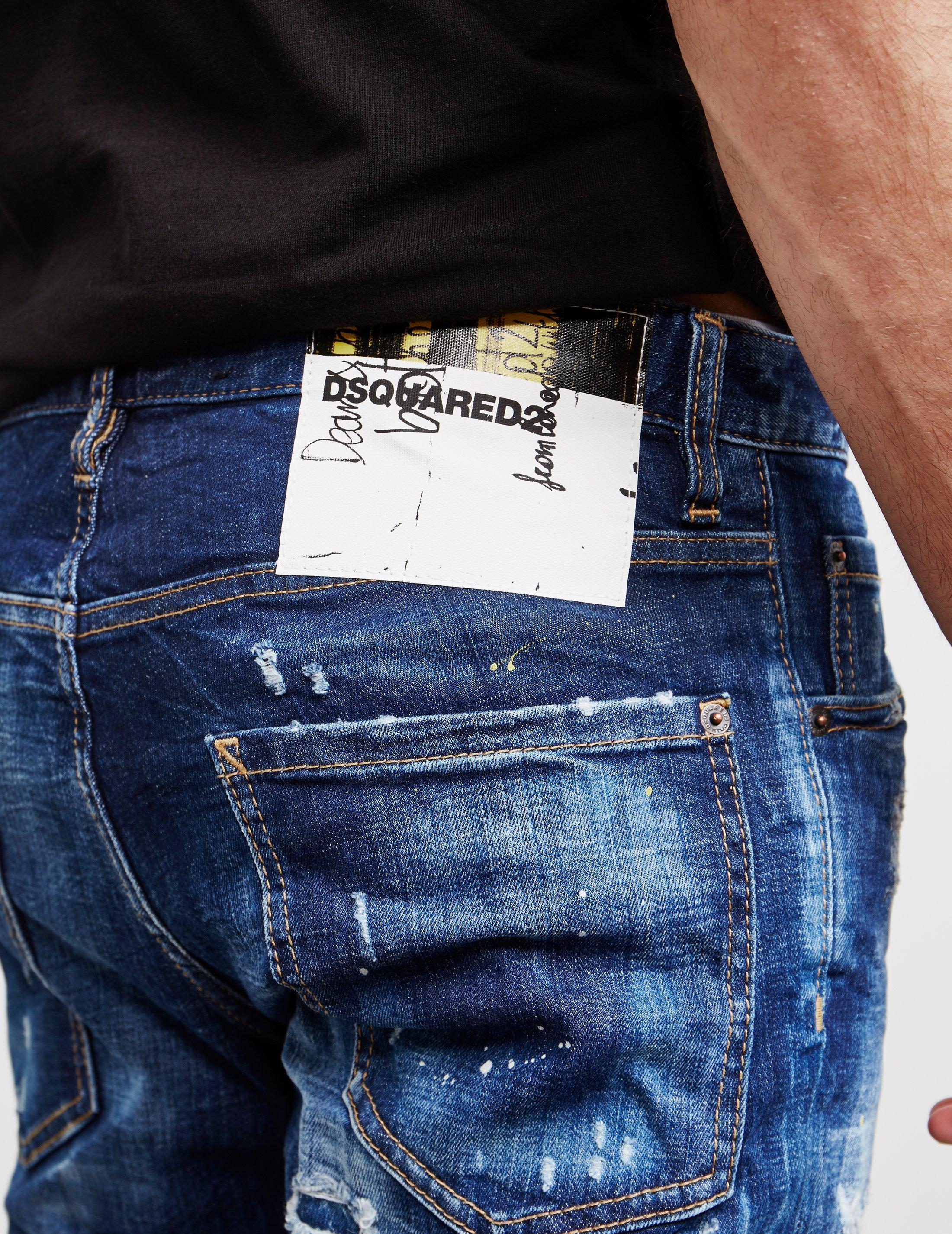 25fee9976fb Lyst - DSquared² Cool Guy Skinny Jeans Blue in Blue for Men