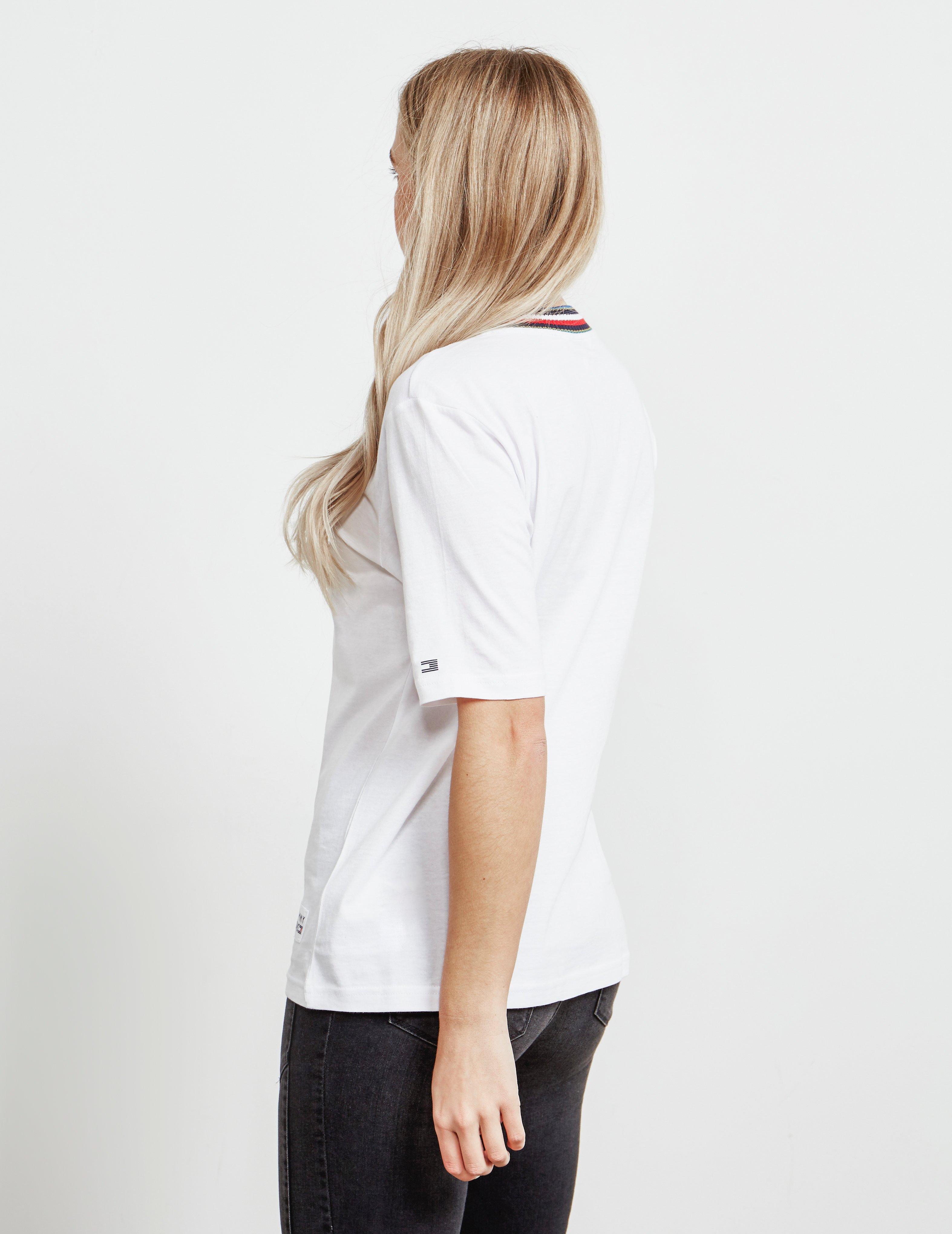 a4ef2123f Tommy Hilfiger - Tira Short Sleeve T-shirt White - Lyst. View fullscreen