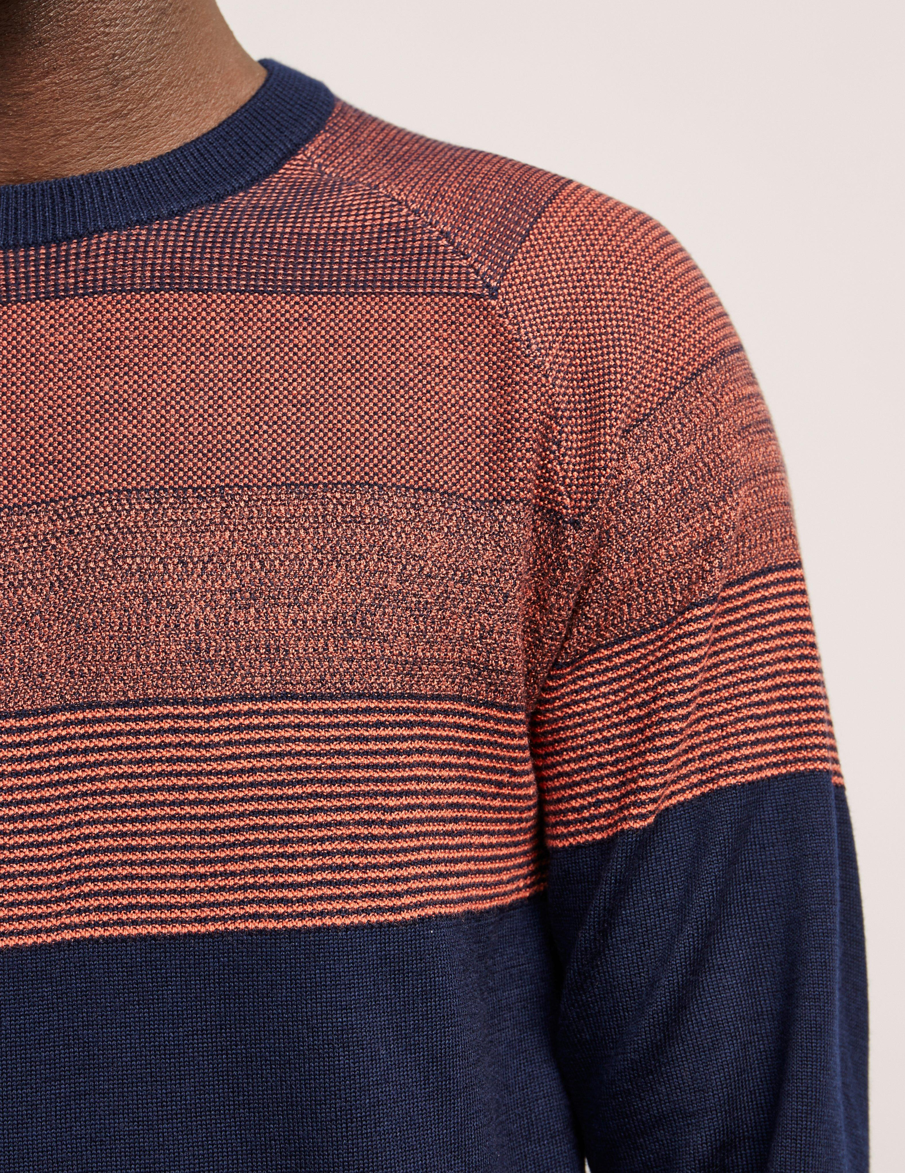 daa694fdfb8a7c PS by Paul Smith Contrast Knitted Jumper - Online Exclusive Navy ...