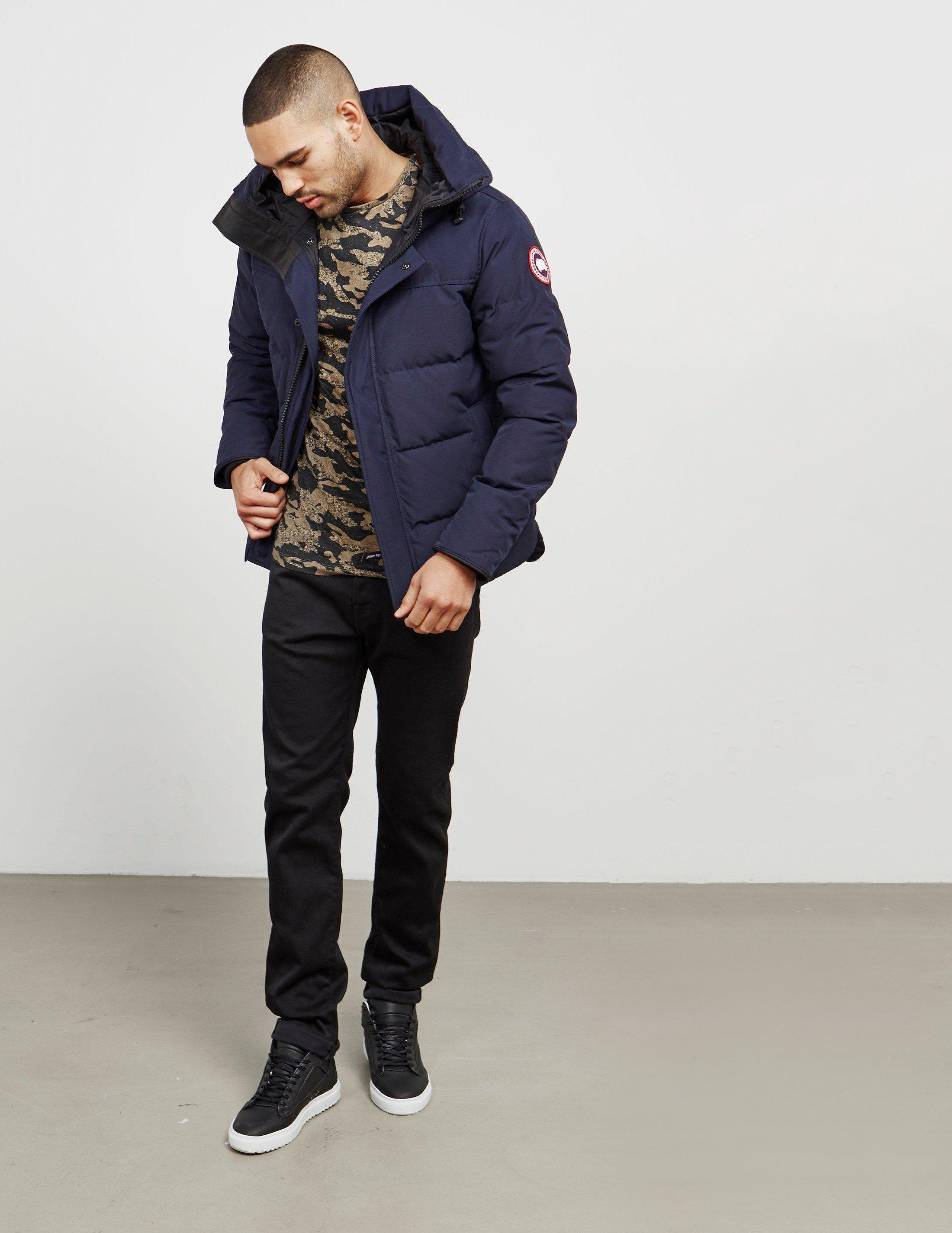 1806e826b399 Canada Goose Macmillan Padded Parka Jacket Blue in Blue for Men ...