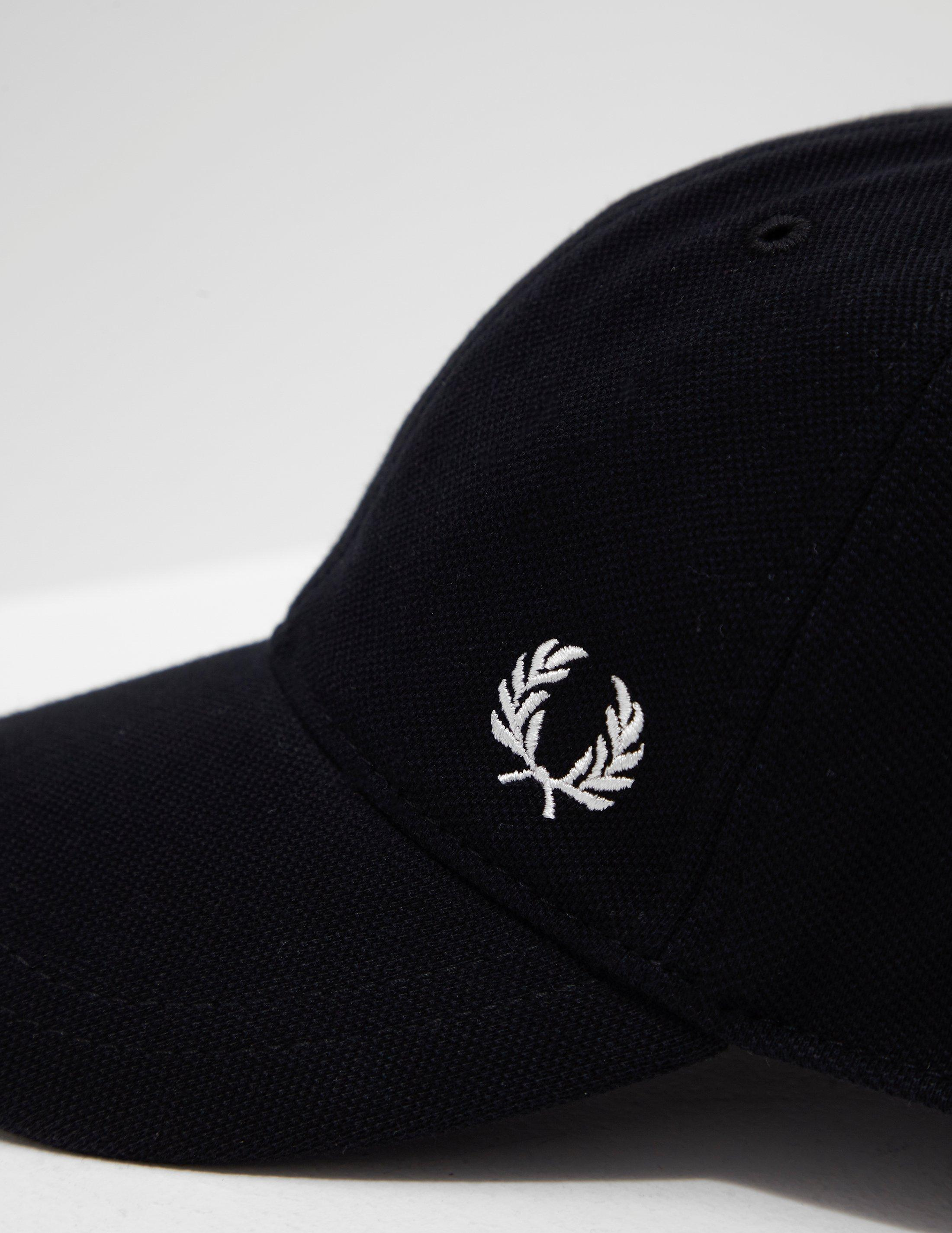 229f1e029 Fred Perry Classic Cap Black in Black for Men - Lyst