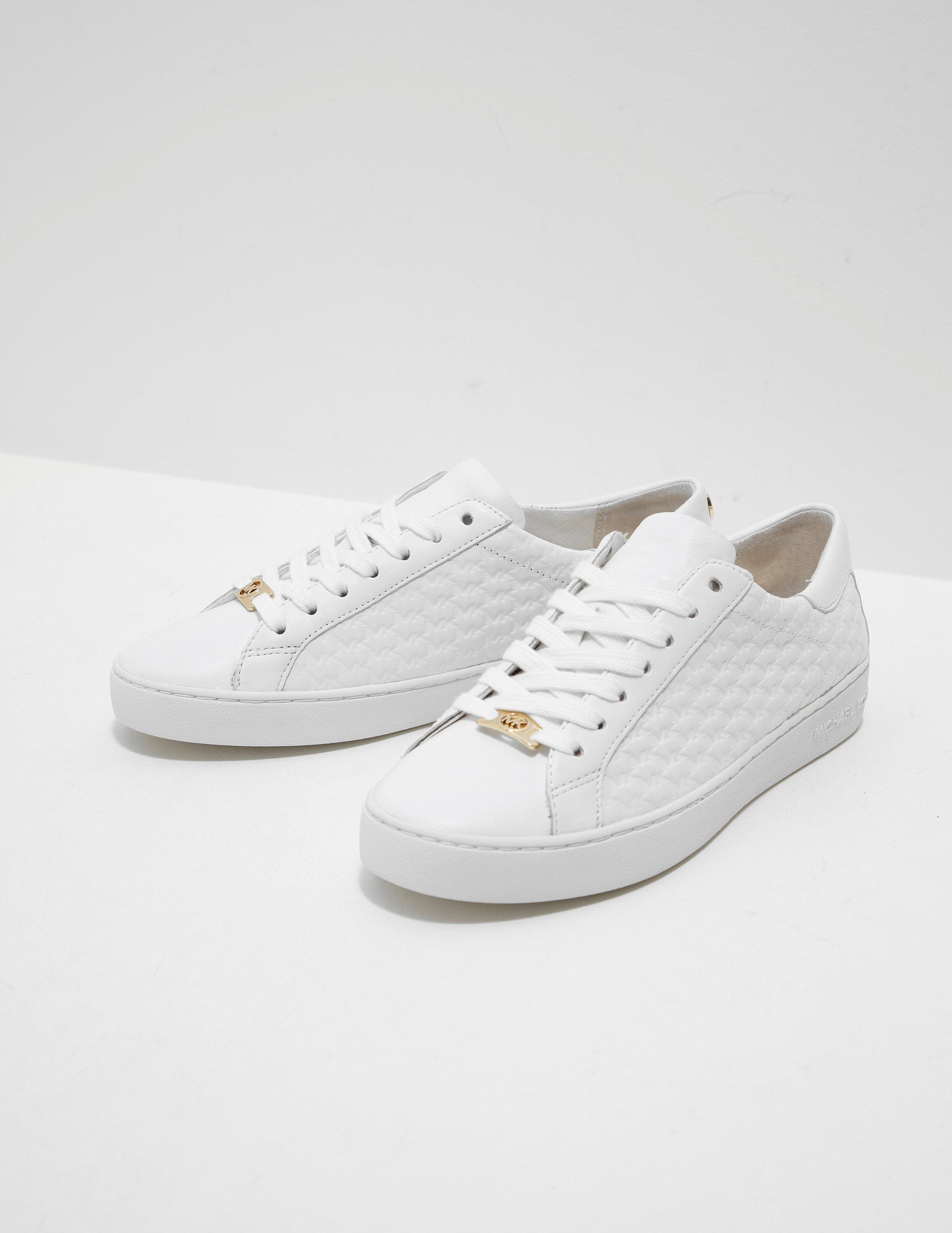 Michael Kors. Womens Colby Trainers White