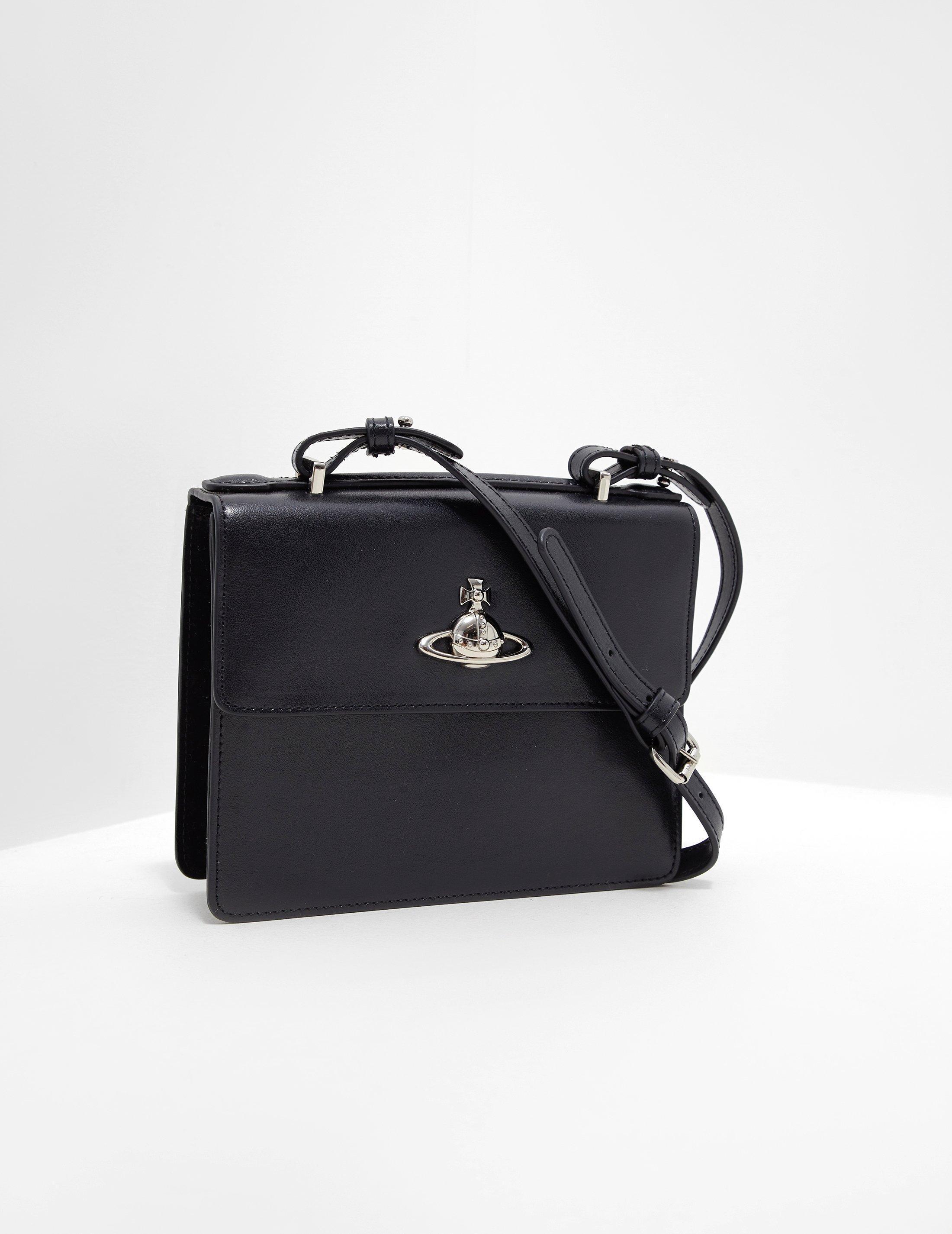 Vivienne Westwood Matilda Shoulder Bag Black in Black - Lyst eb8c42503a3a5