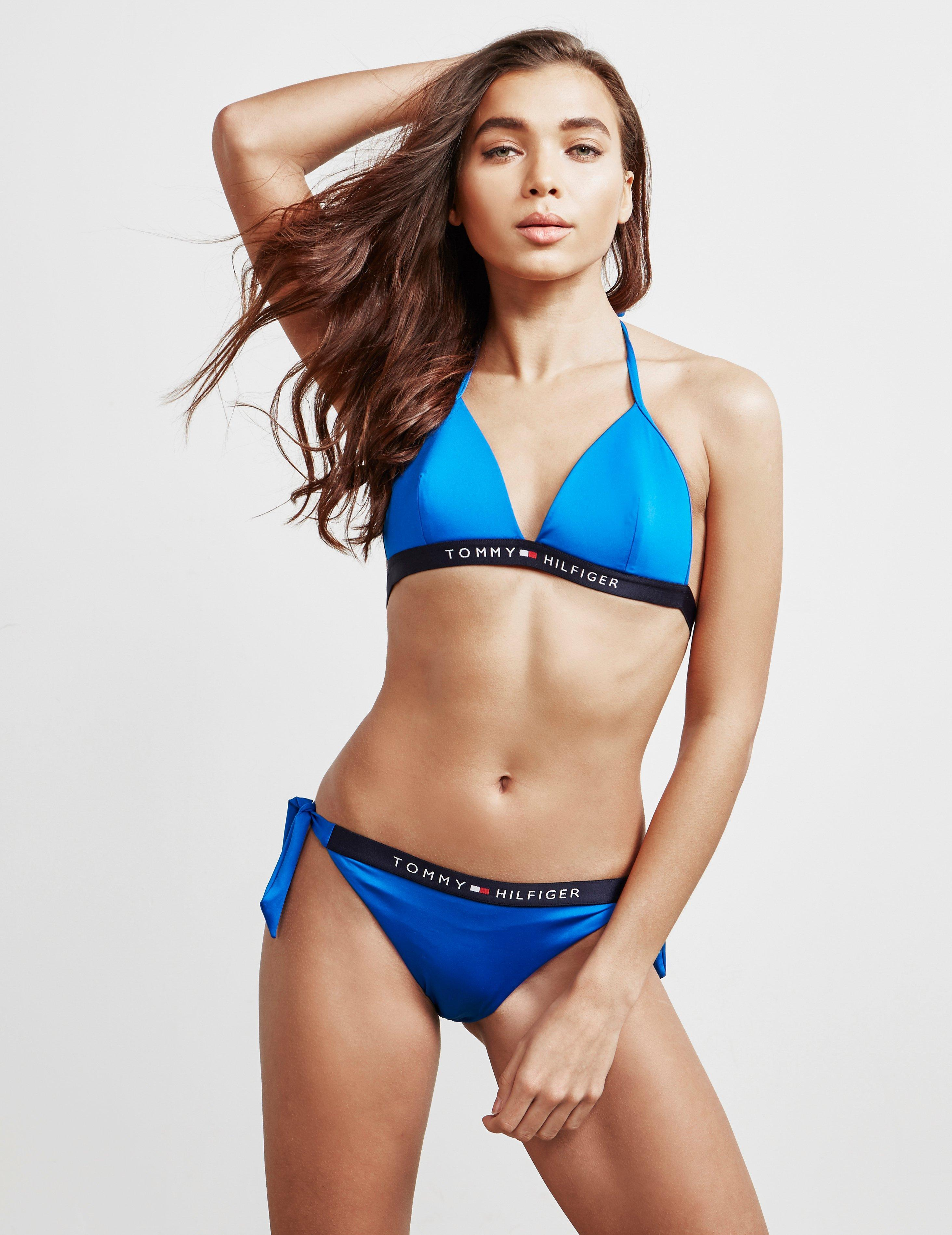 596b197038a674 Lyst - Tommy Hilfiger Tie Side Bikini Briefs Blue in Blue