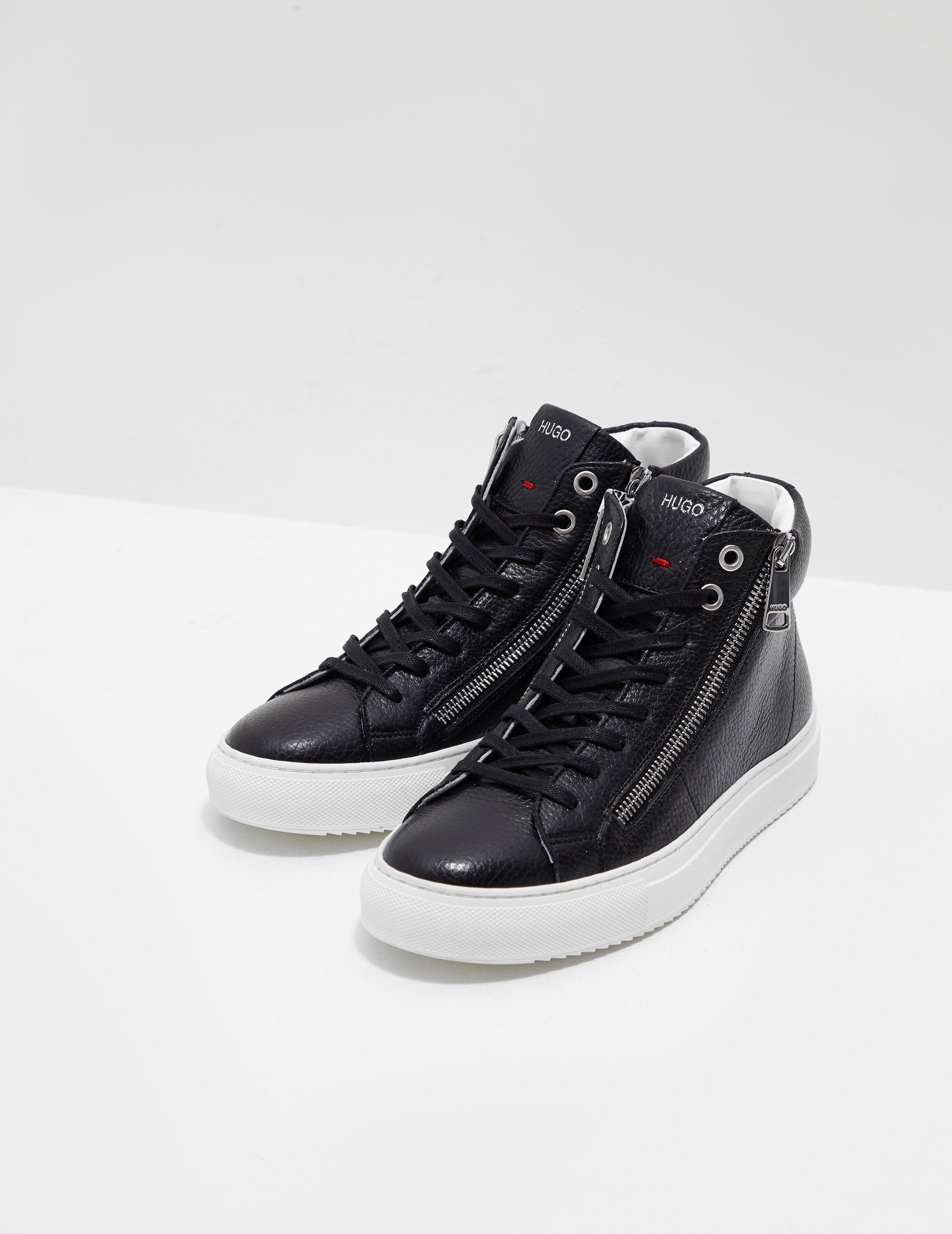 Womens Hoxton Mid Trainers Black