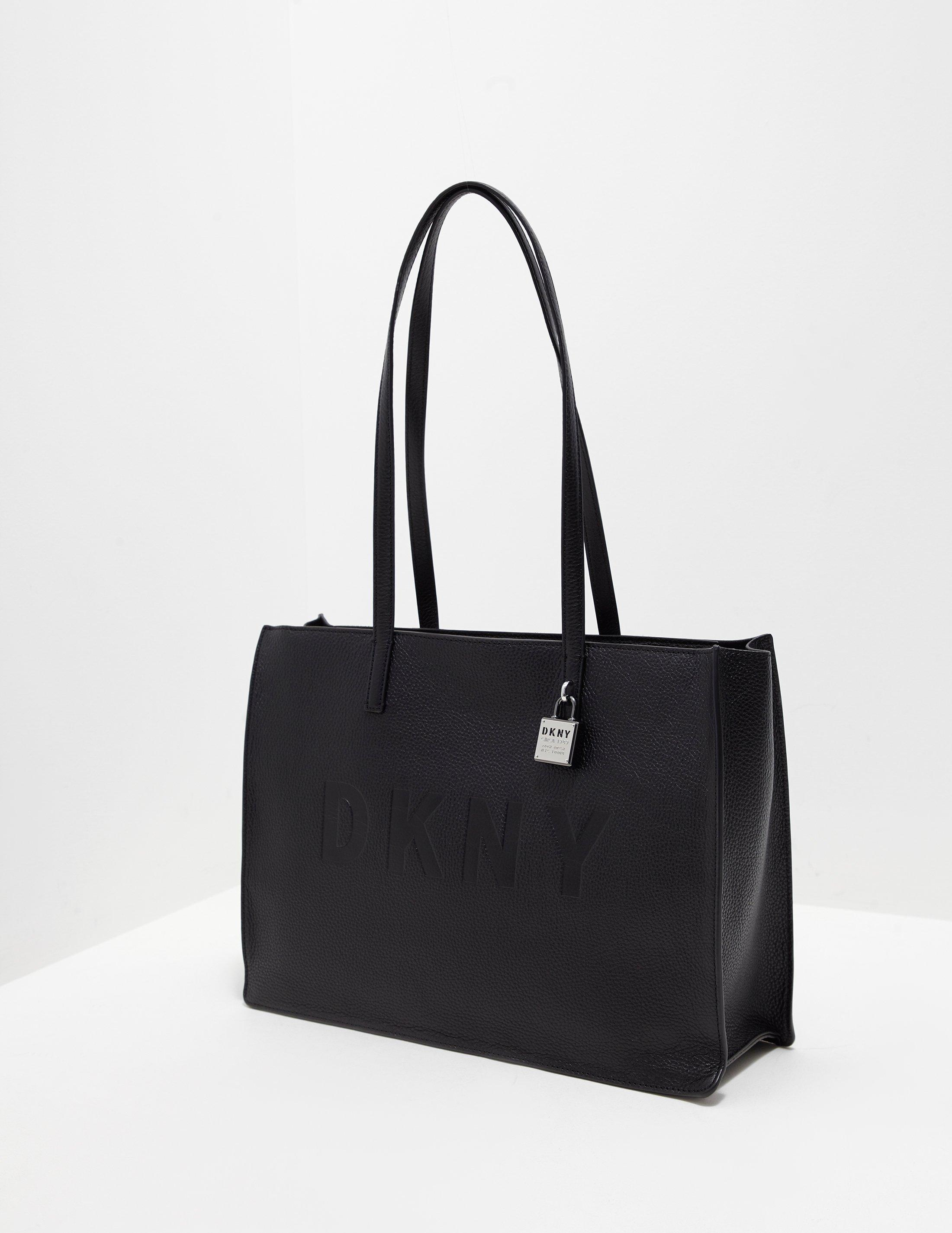 55d7f79e1571 DKNY Commuter Tote Bag Black in Black - Save 16% - Lyst