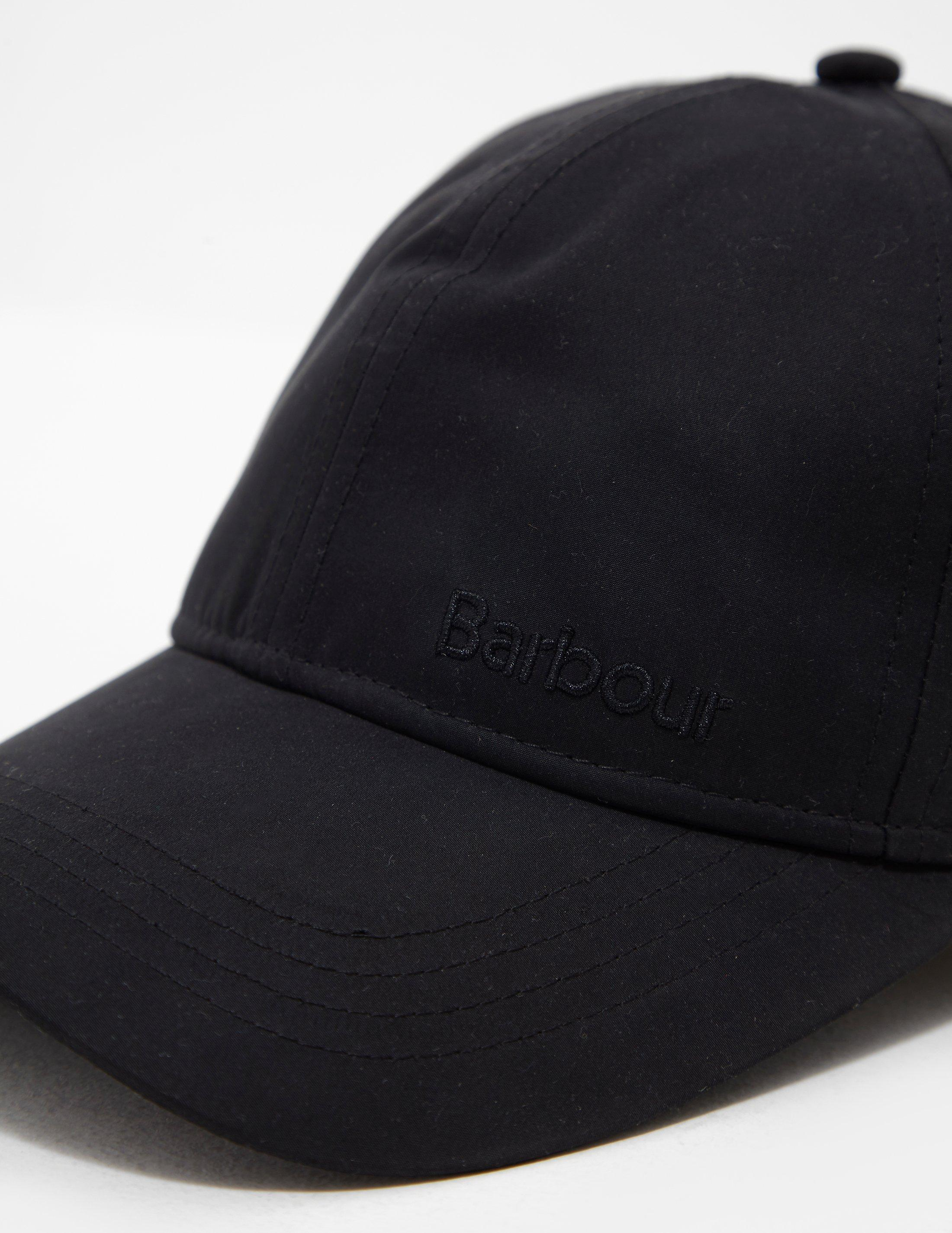 ffffd7290c3cbb Lyst - Barbour Berwick Cap Black in Black for Men