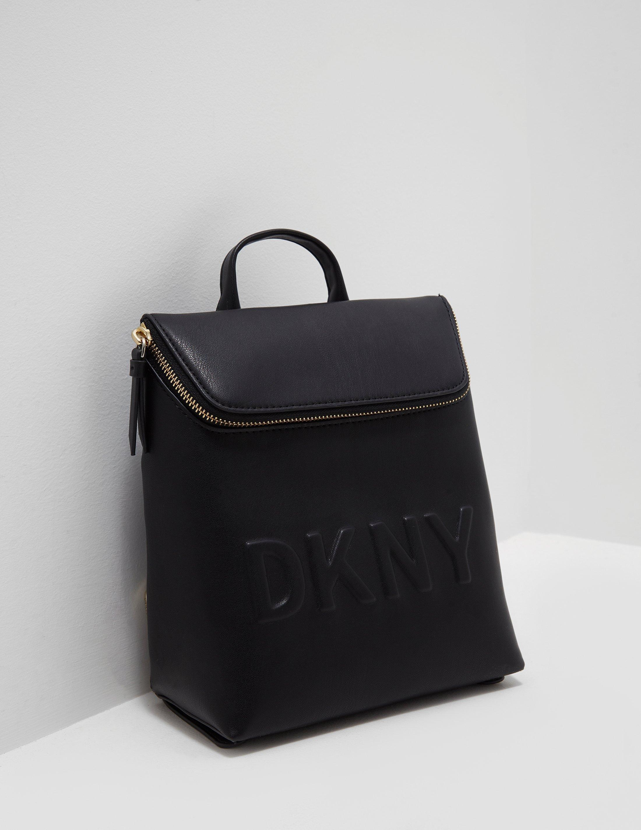 36fc30cf76b7 DKNY Womens Tilly Backpack - Online Exclusive Black in Black - Lyst