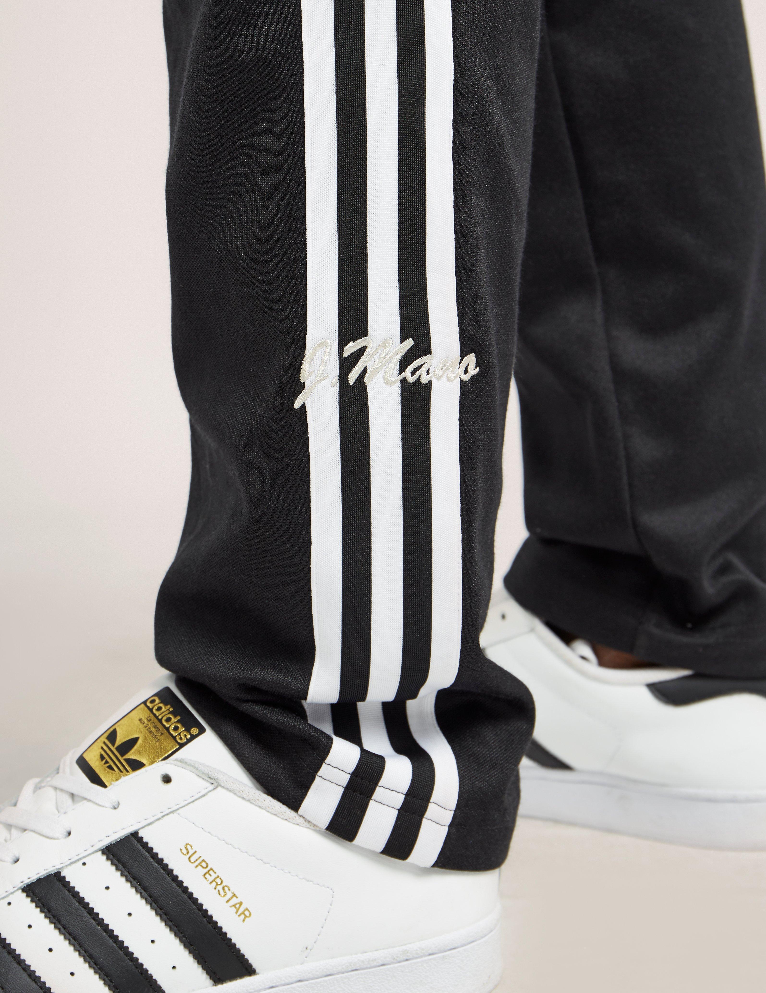 Lyst Adidas Originals 83 C Track Pants In Black For Men